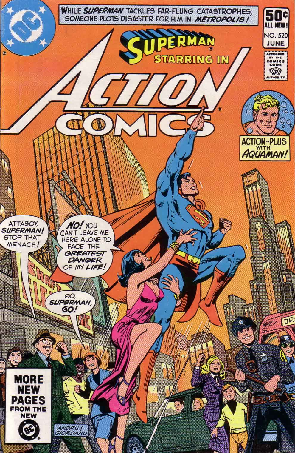 Read online Action Comics (1938) comic -  Issue #520 - 1