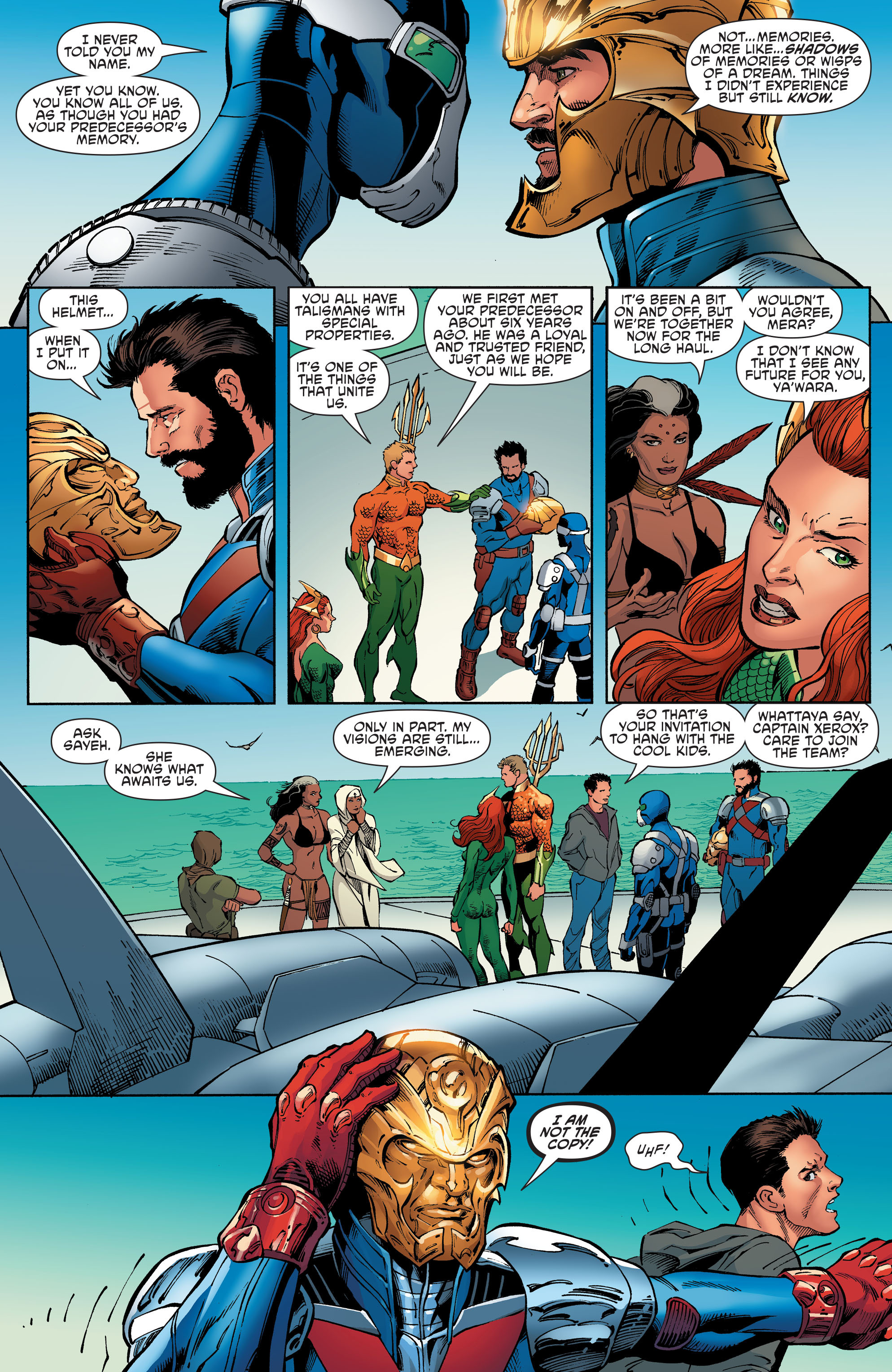 Read online Aquaman and the Others comic -  Issue #6 - 5