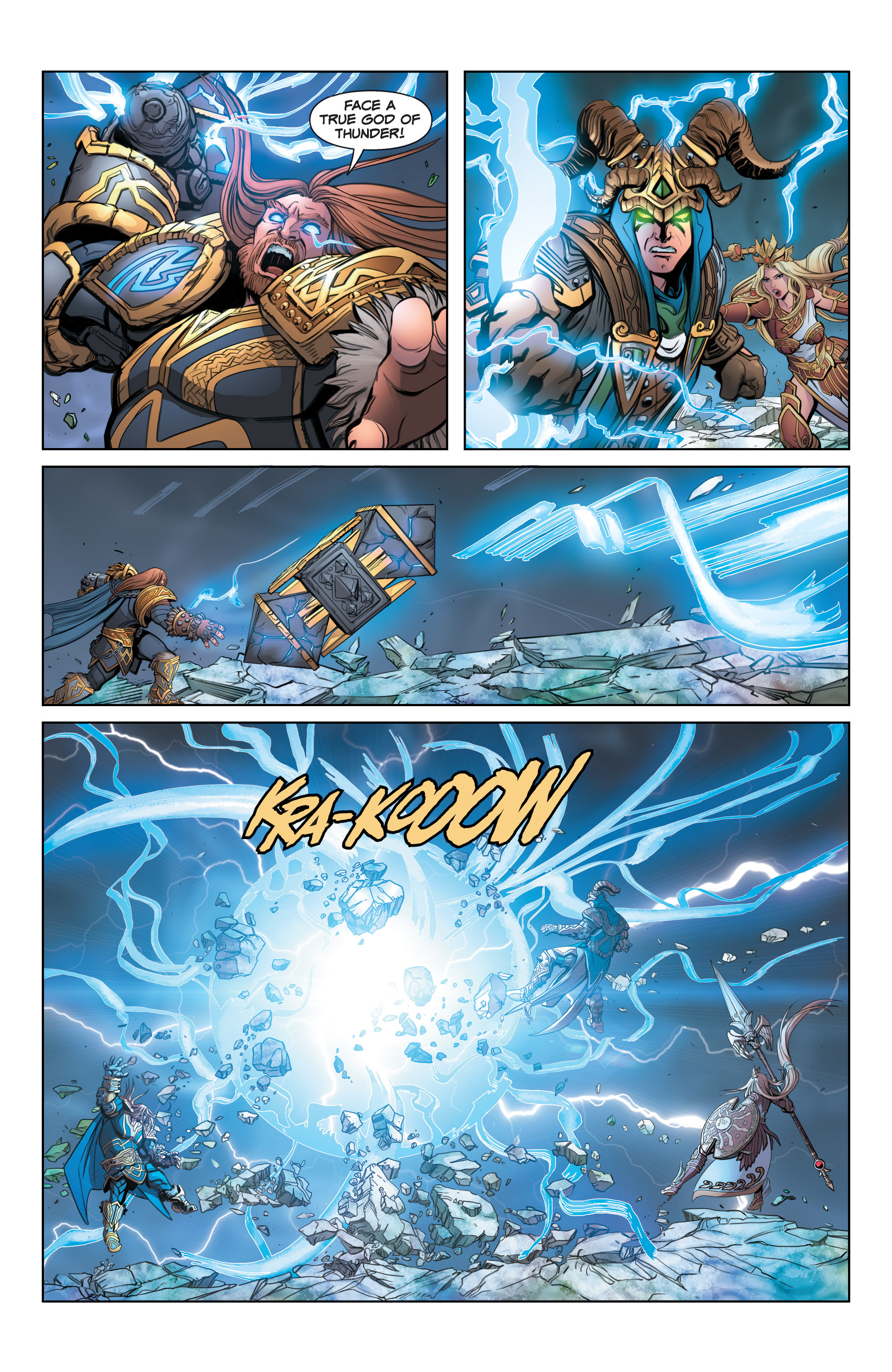 Read online SMITE: The Pantheon War comic -  Issue #3 - 16