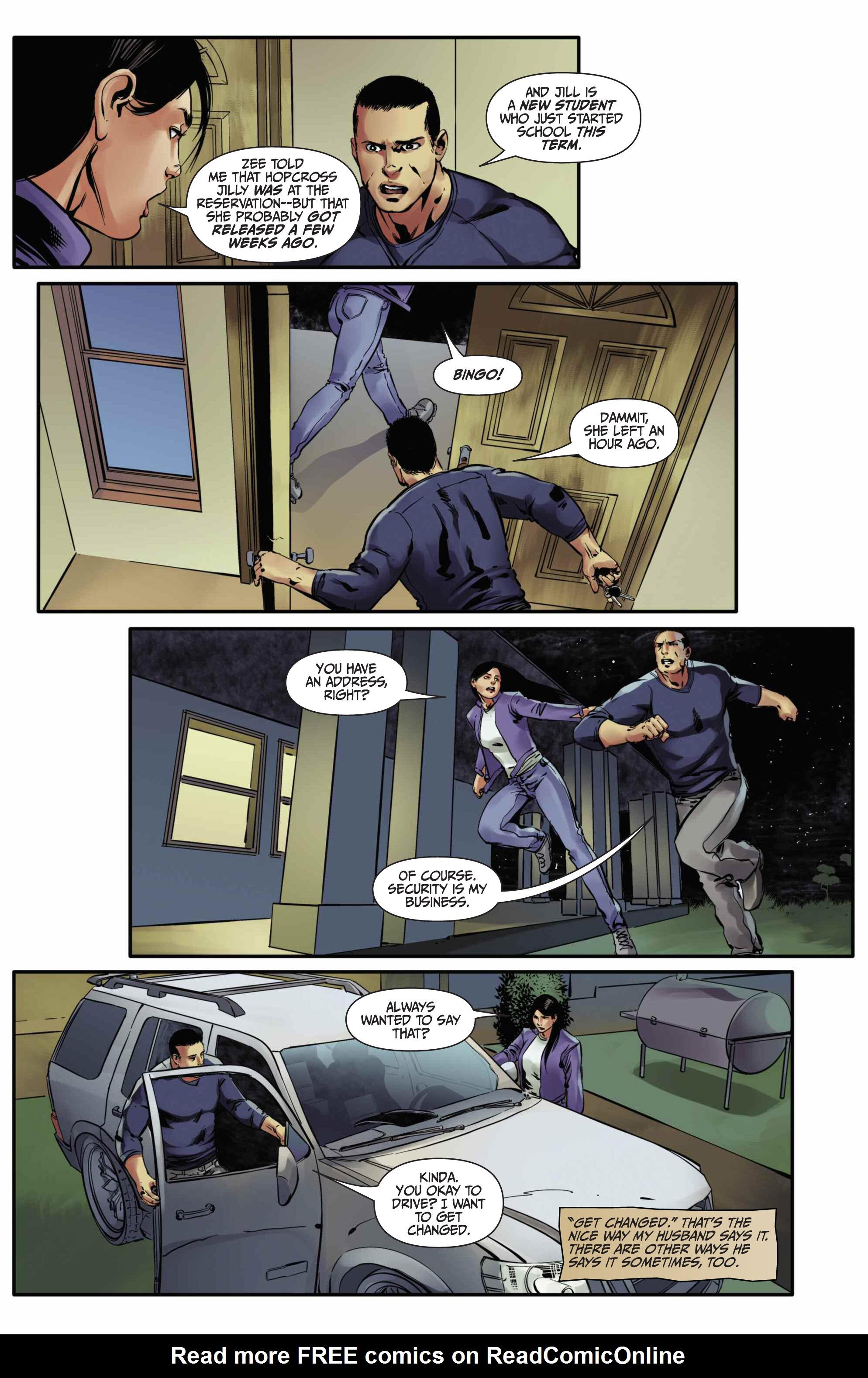 Read online Mercy Thompson comic -  Issue #5 - 19