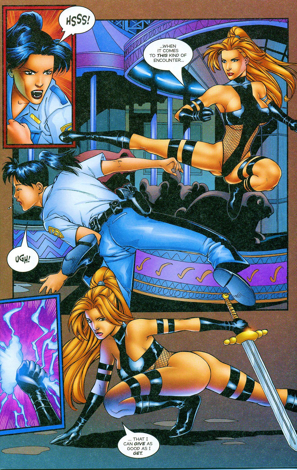 Read online Avengelyne: Bad Blood comic -  Issue #2 - 6