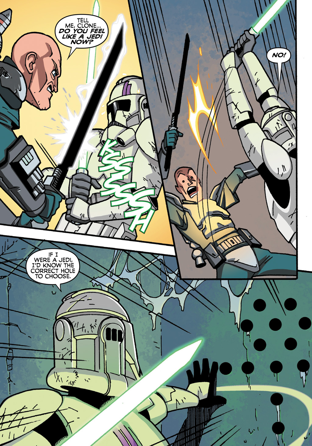 Read online Star Wars: The Clone Wars - Defenders of the Lost Temple comic -  Issue # Full - 64
