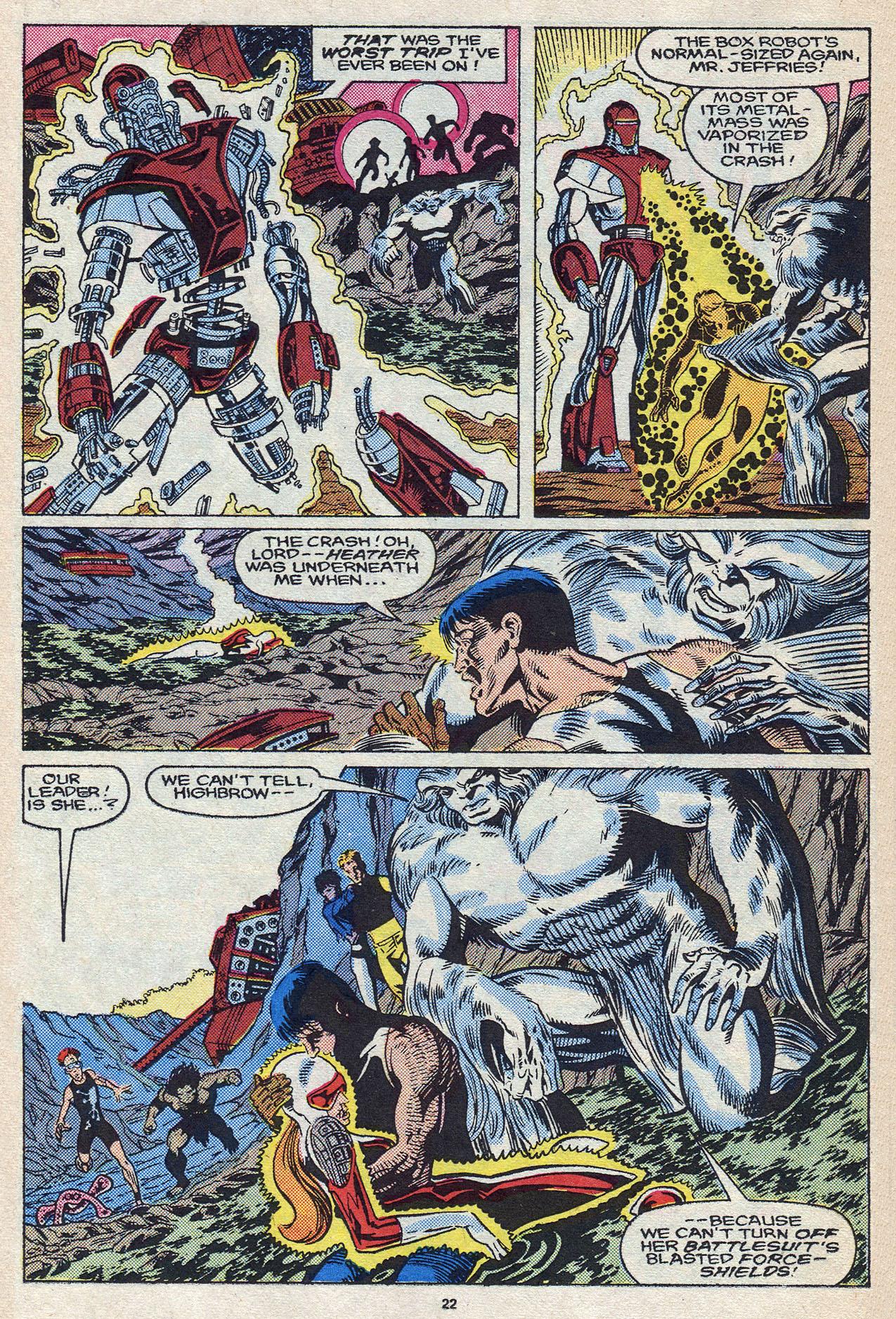 Read online Alpha Flight (1983) comic -  Issue #58 - 24