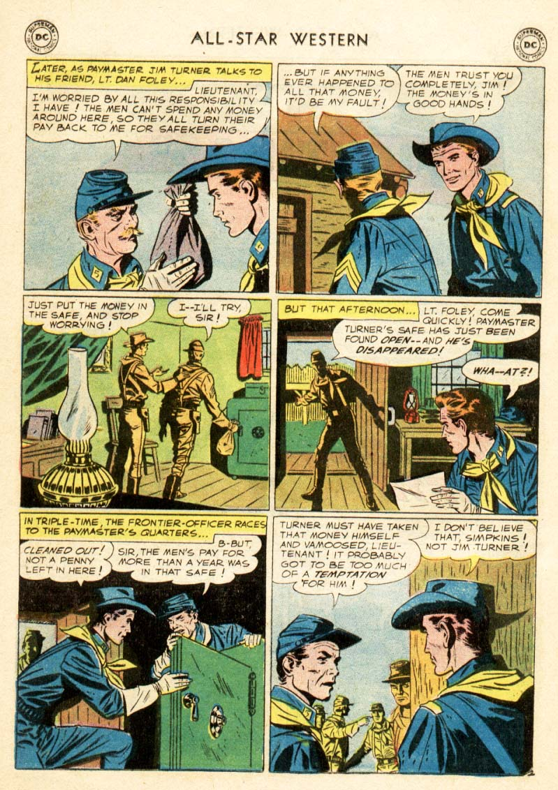 Read online All-Star Western (1951) comic -  Issue #97 - 16