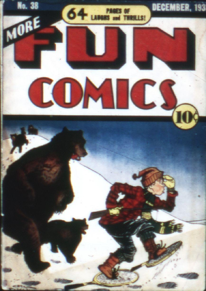 More Fun Comics 38 Page 1