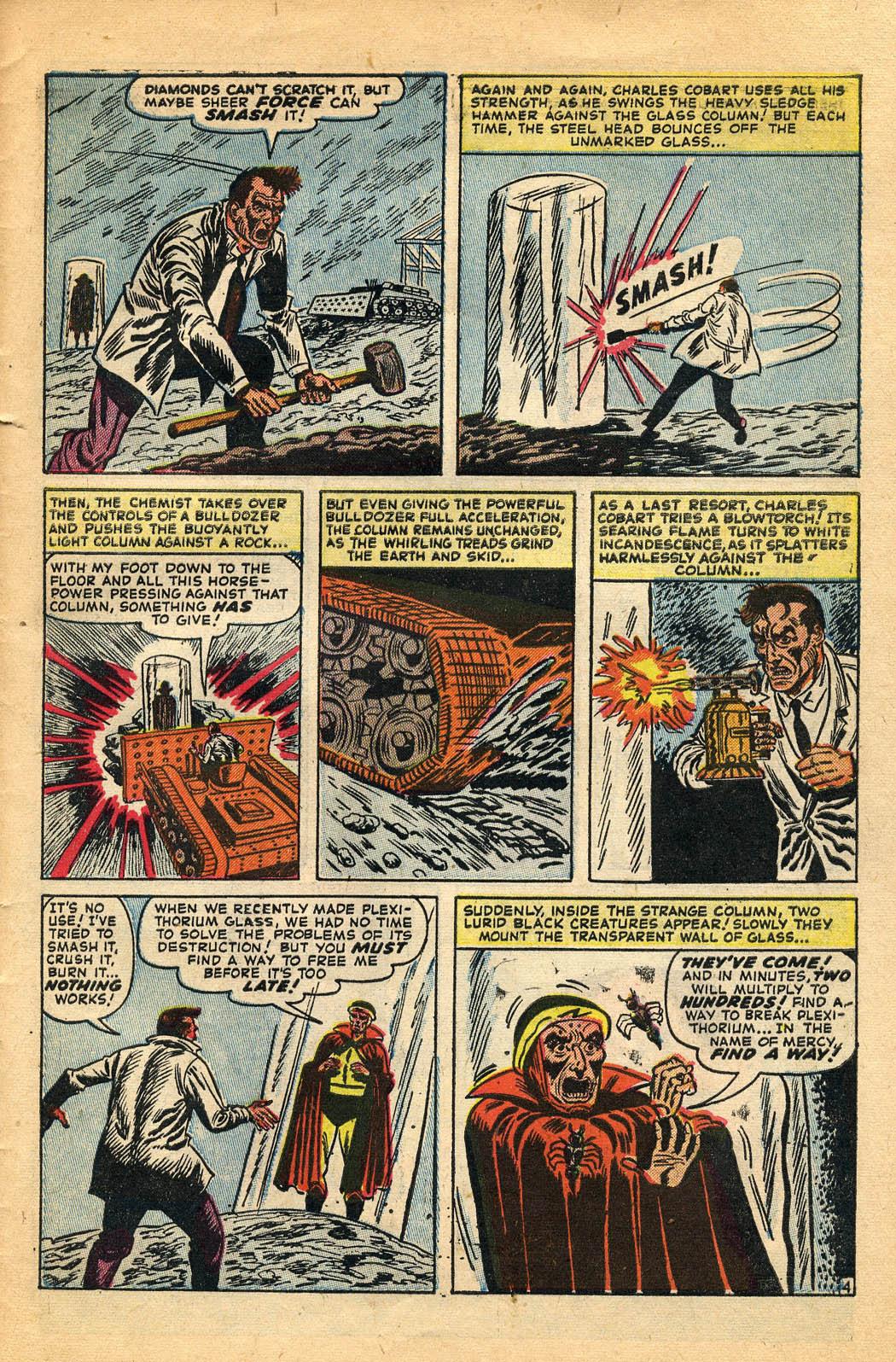 Read online Adventures into Weird Worlds comic -  Issue #29 - 31