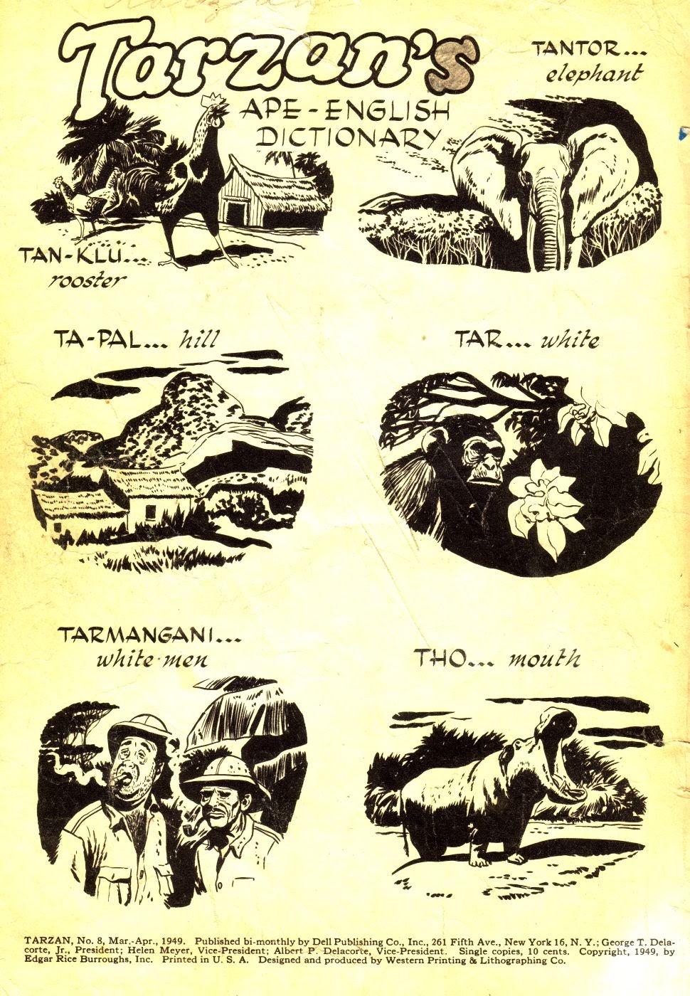 Tarzan (1948) issue 8 - Page 2