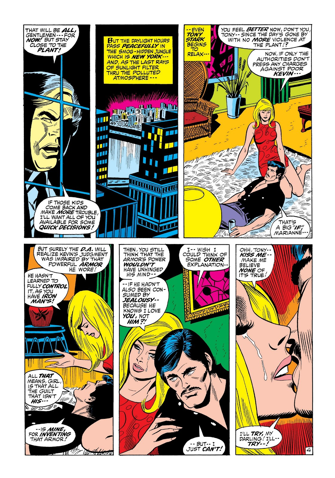 Read online Marvel Masterworks: The Invincible Iron Man comic -  Issue # TPB 8 (Part 2) - 48