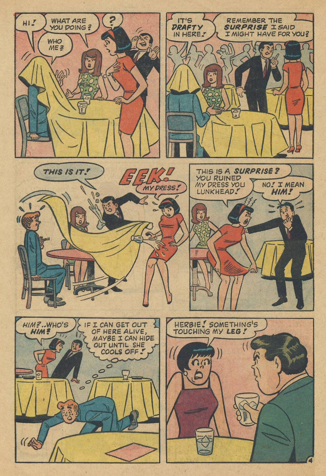 Read online Archie (1960) comic -  Issue #170 - 32