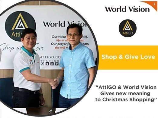AttiGO World Vision Development Foundation Gives Meaning Christmas