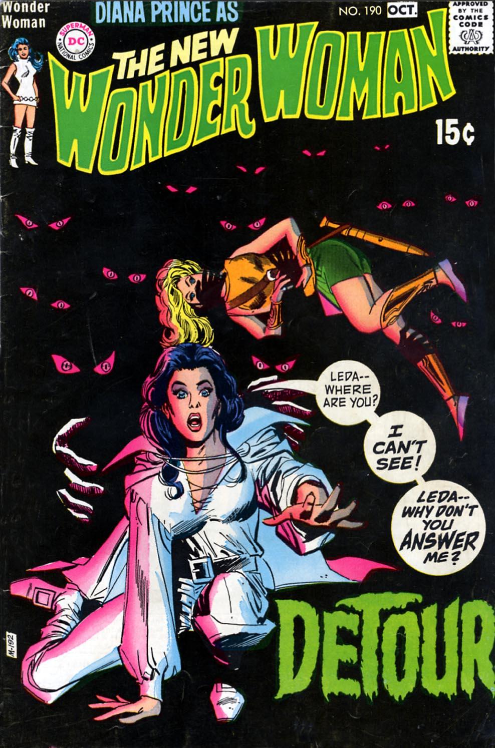 Read online Wonder Woman (1942) comic -  Issue #190 - 1