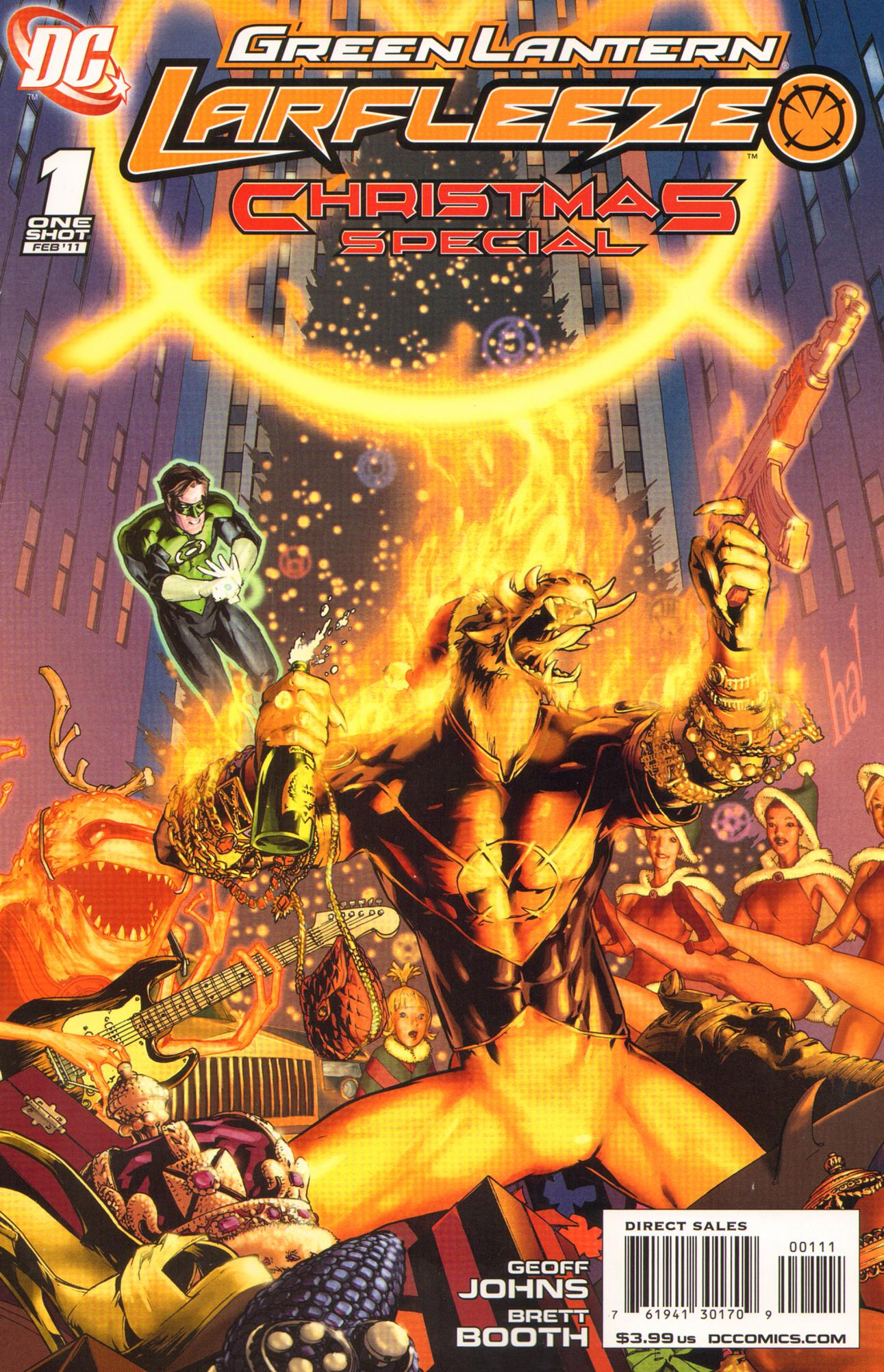 Green Lantern: Larfleeze Christmas Special Full Page 1