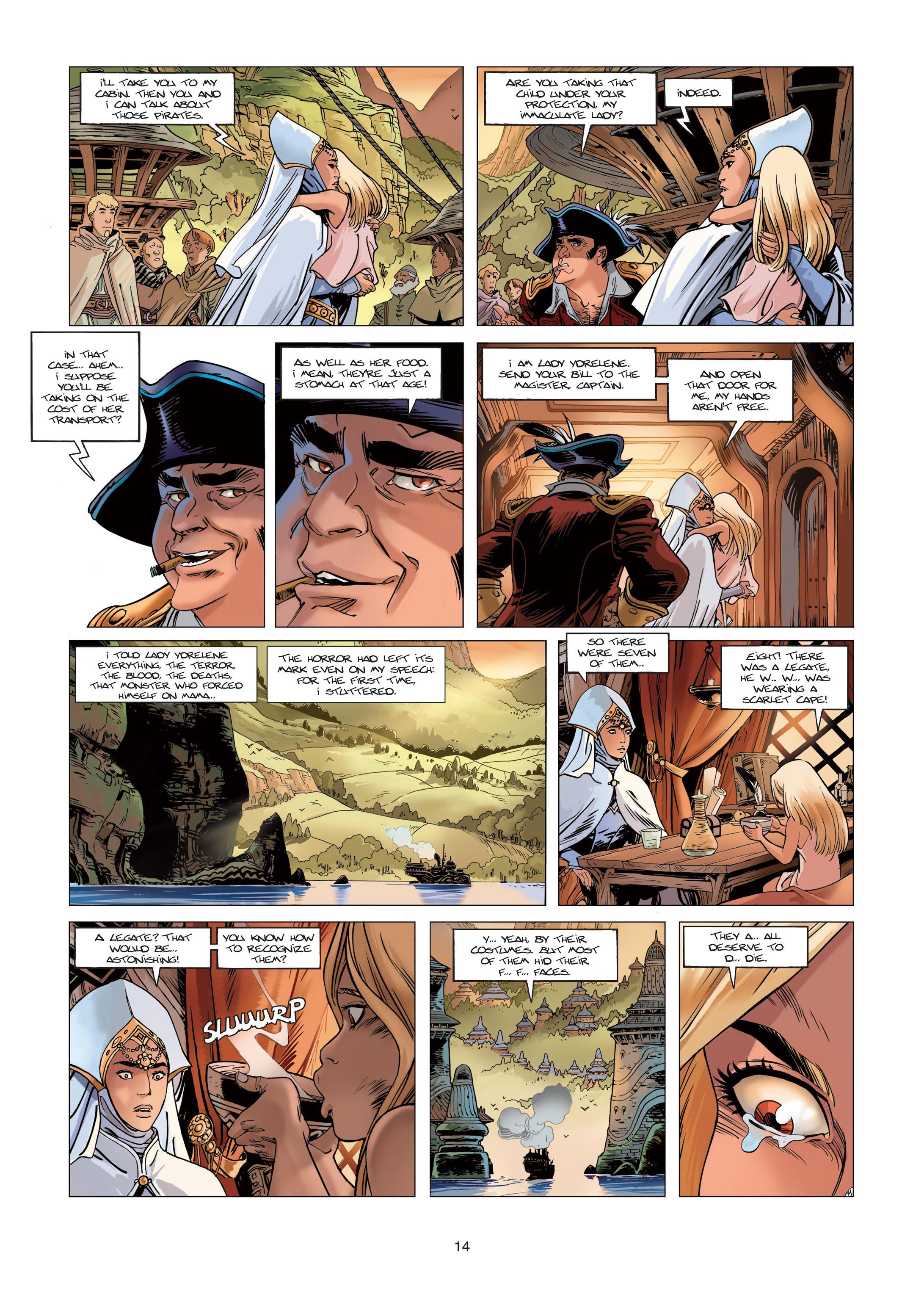 Read online Sangre Vol. 1: Sangre the Survivor comic -  Issue # Full - 14