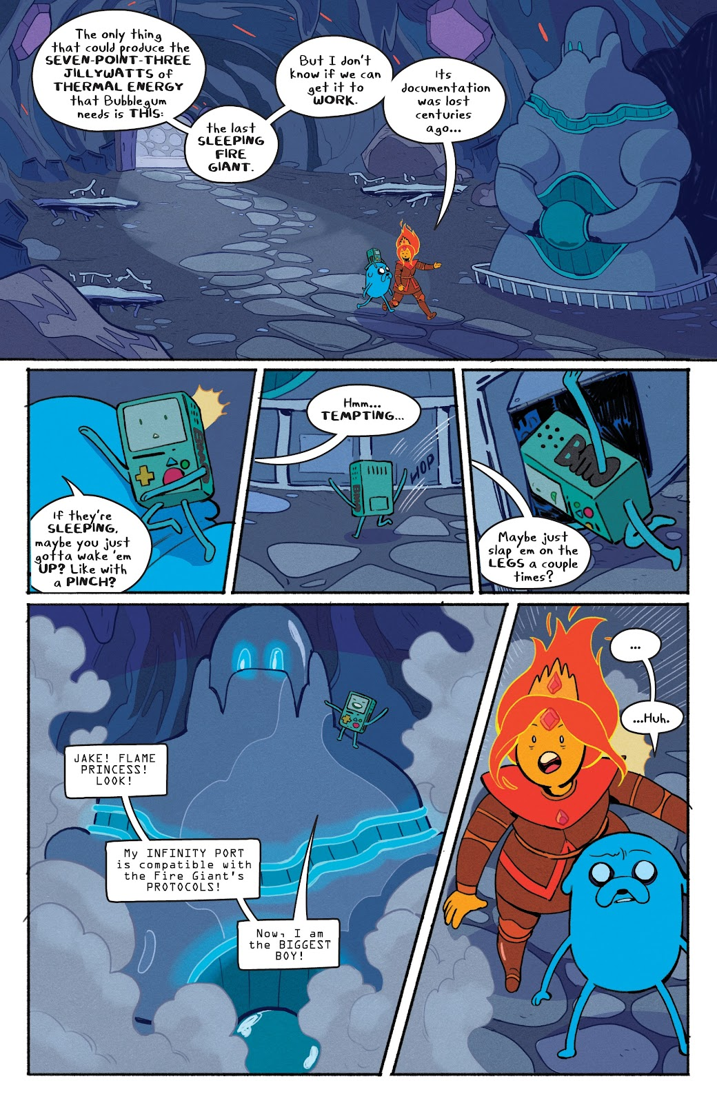 Read online Adventure Time: Beginning of the End comic -  Issue # _TPB - 44