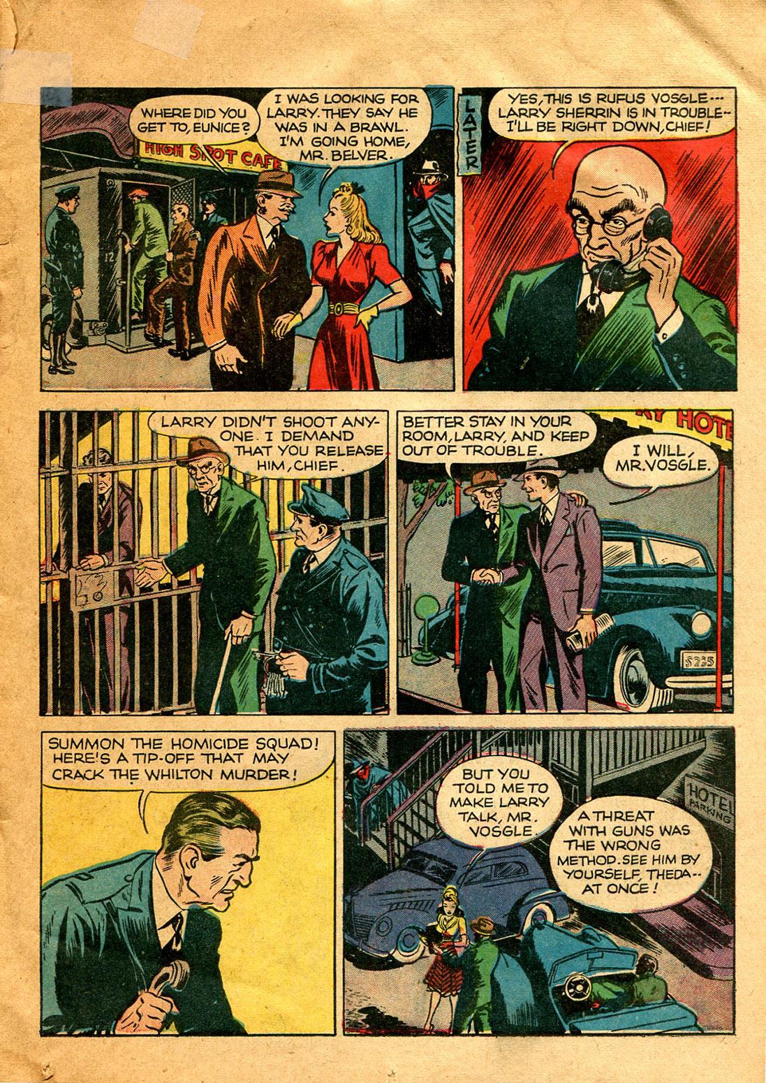 Read online Shadow Comics comic -  Issue #9 - 21