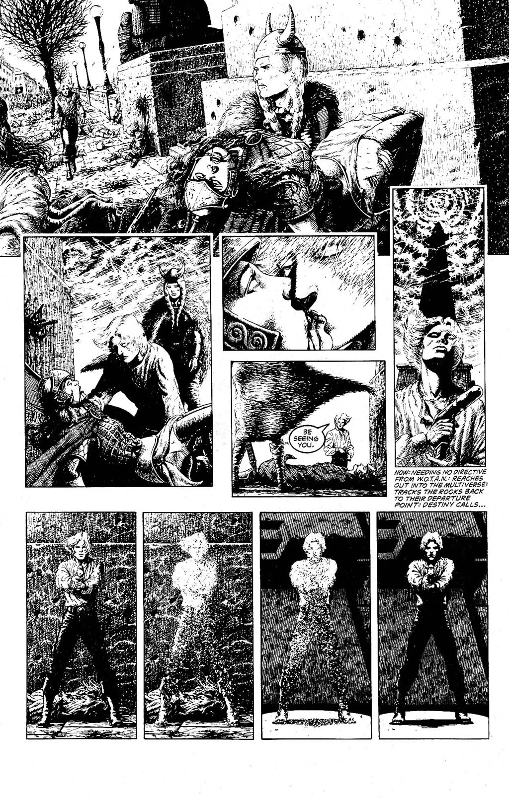 Read online The Adventures of Luther Arkwright comic -  Issue #9 - 6