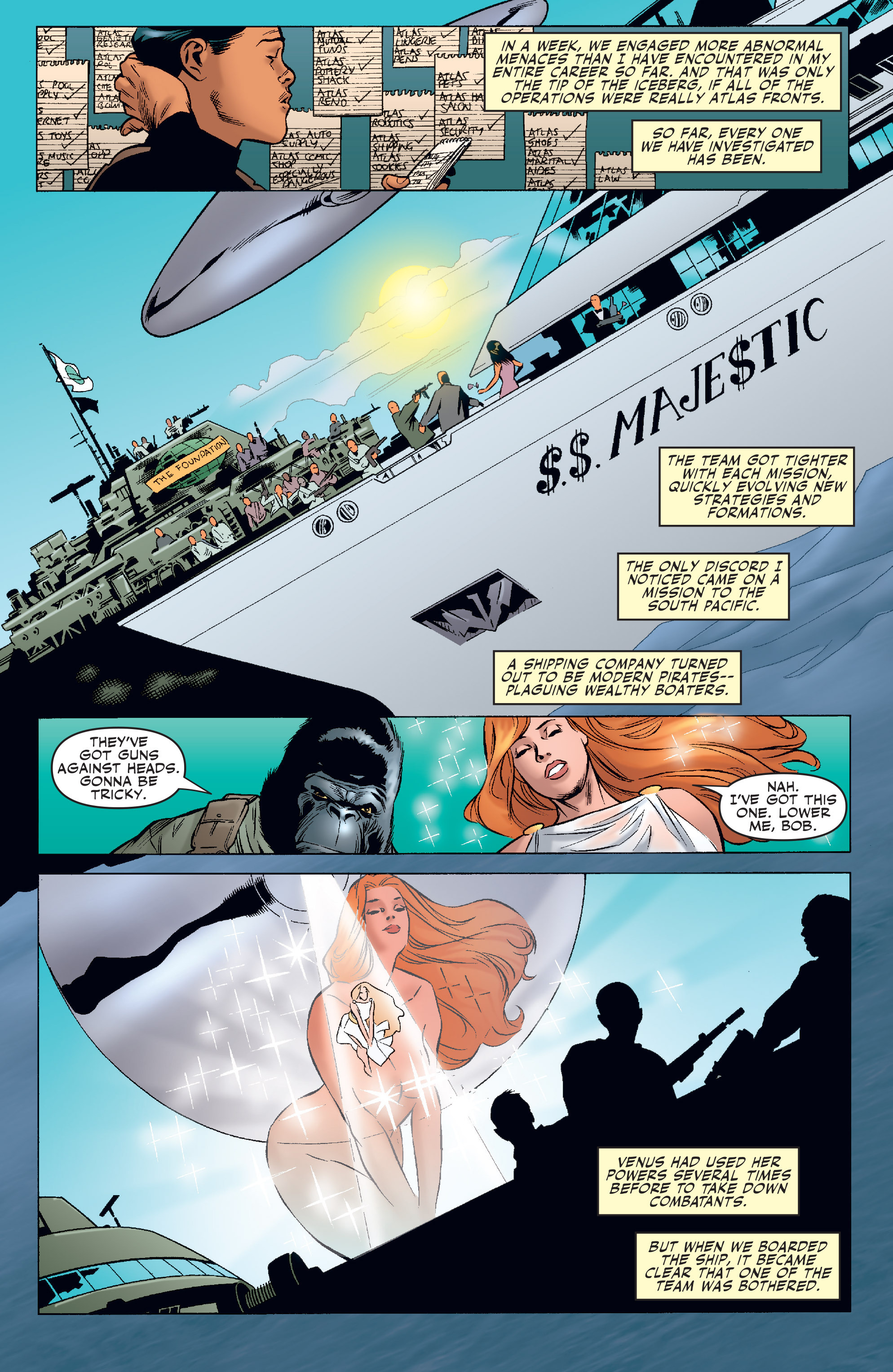 Read online Agents Of Atlas (2006) comic -  Issue #4 - 18