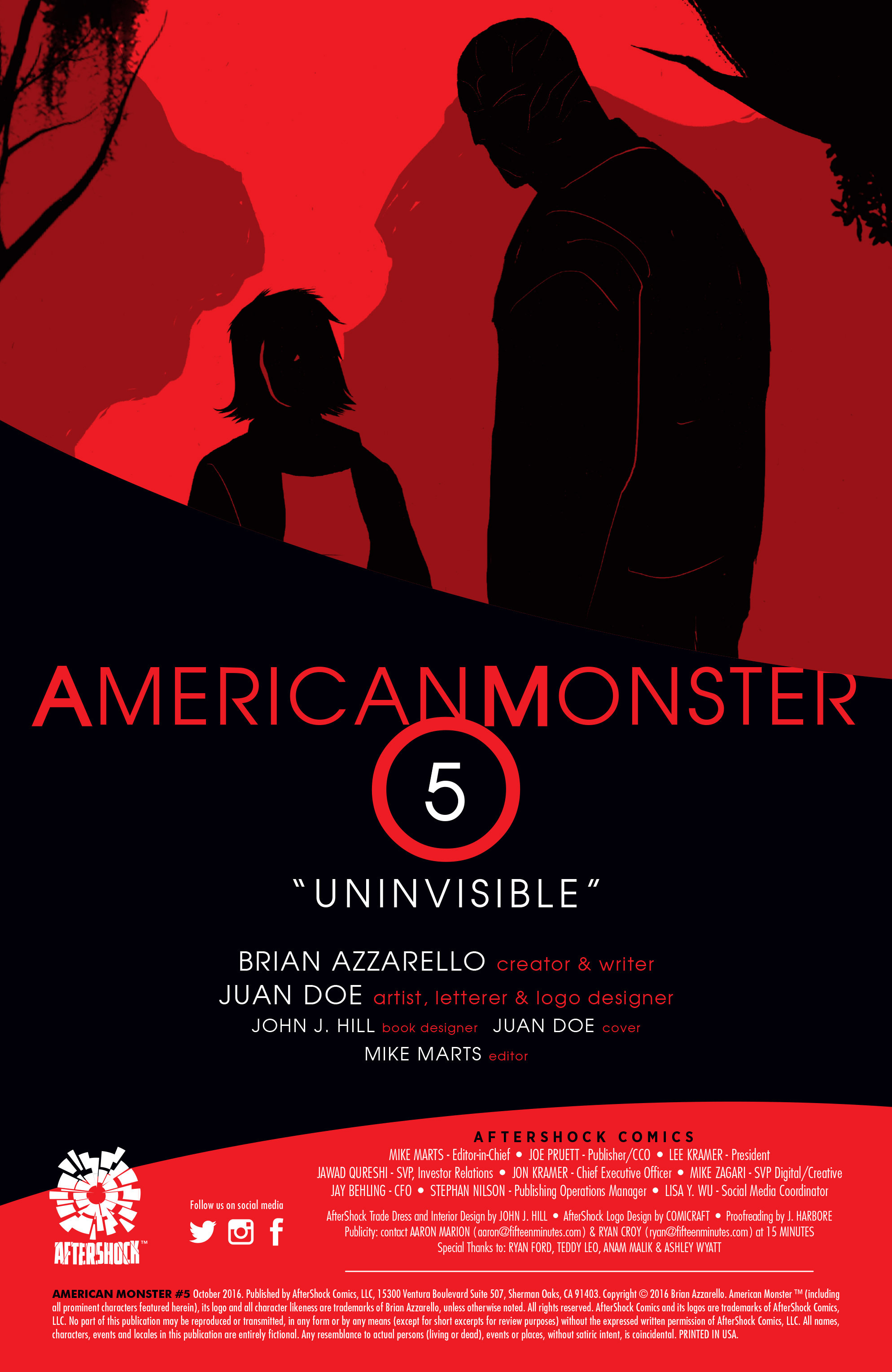 Read online American Monster comic -  Issue #5 - 2