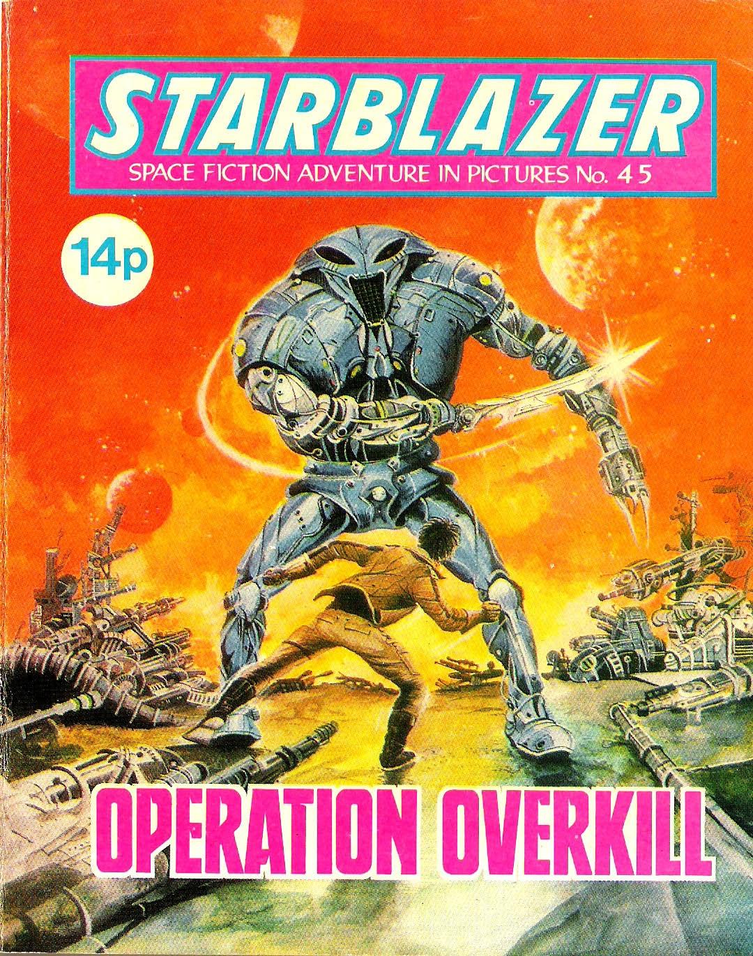 Starblazer issue 45 - Page 1