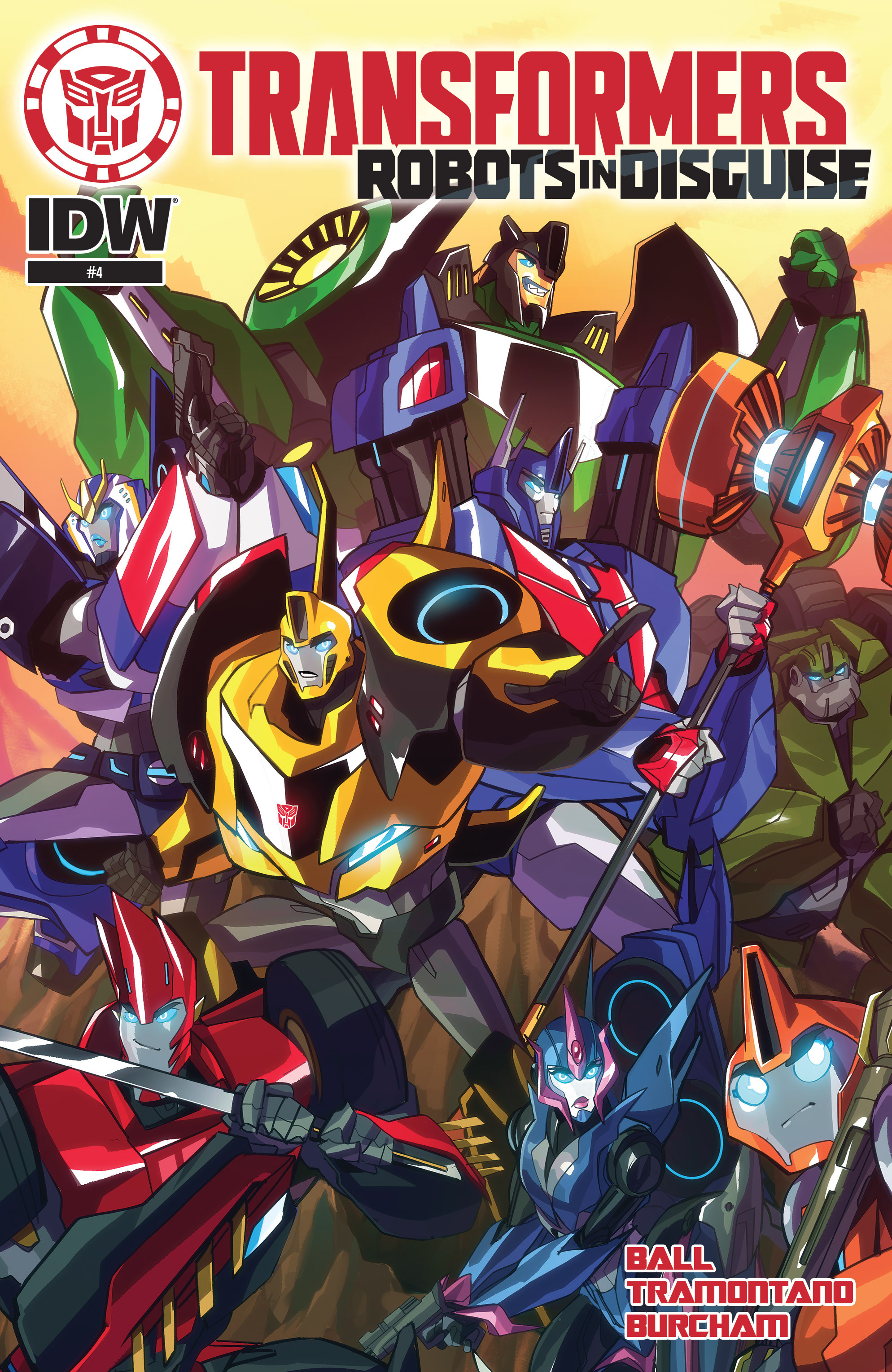 Read online Transformers: Robots In Disguise (2015) comic -  Issue #4 - 1