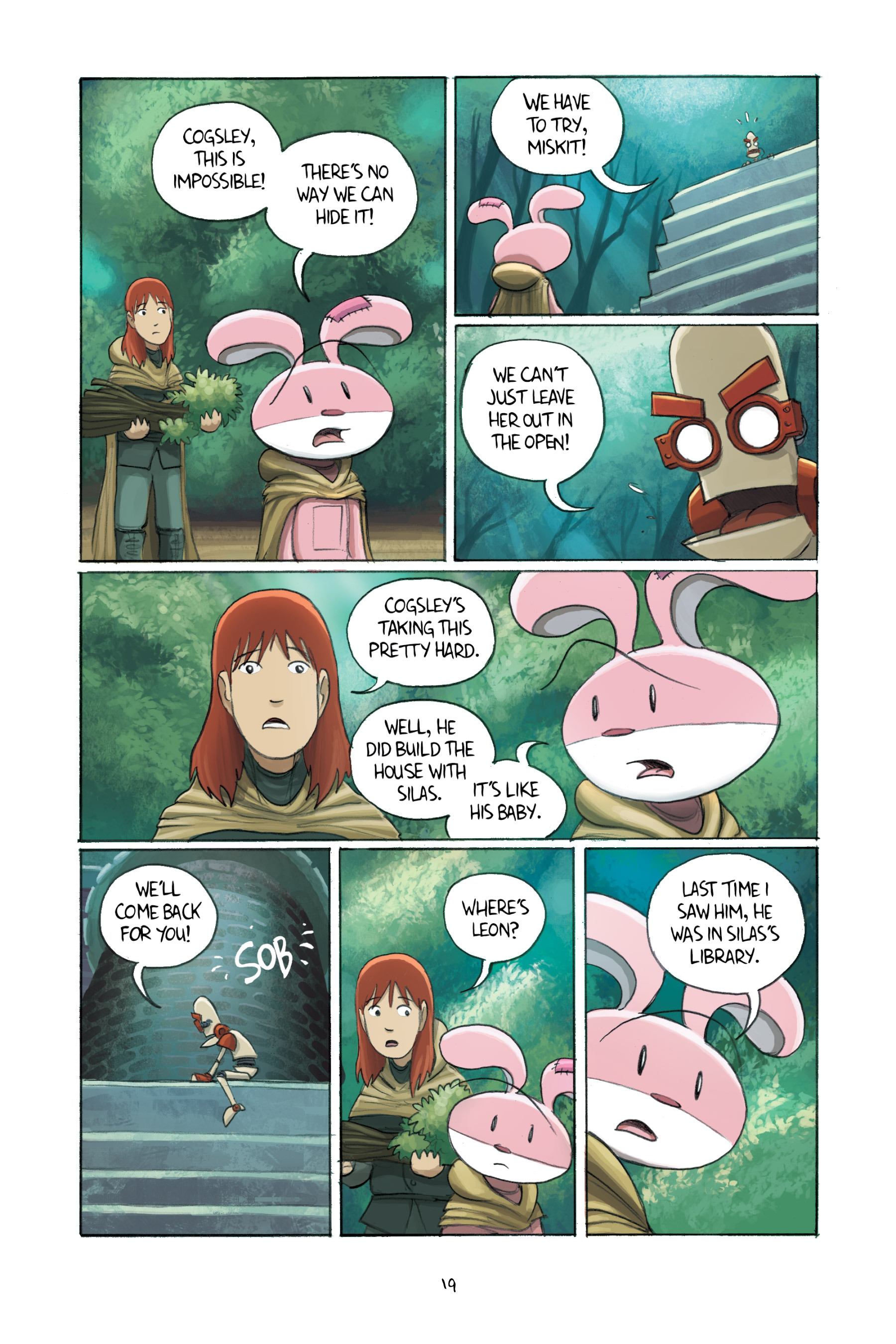Read online Amulet comic -  Issue #3 - 20