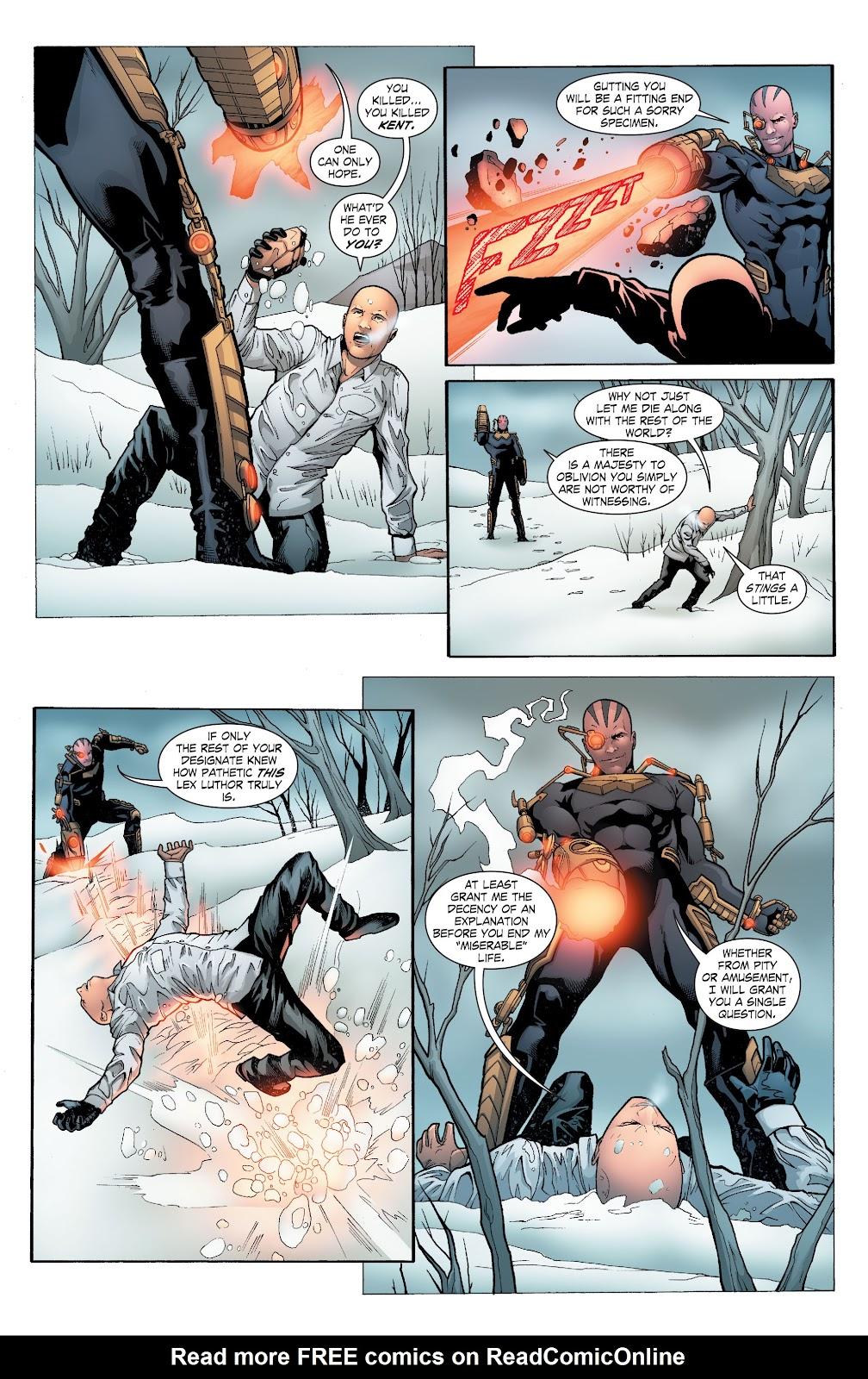 Read online Smallville Season 11 [II] comic -  Issue # TPB 6 - 149