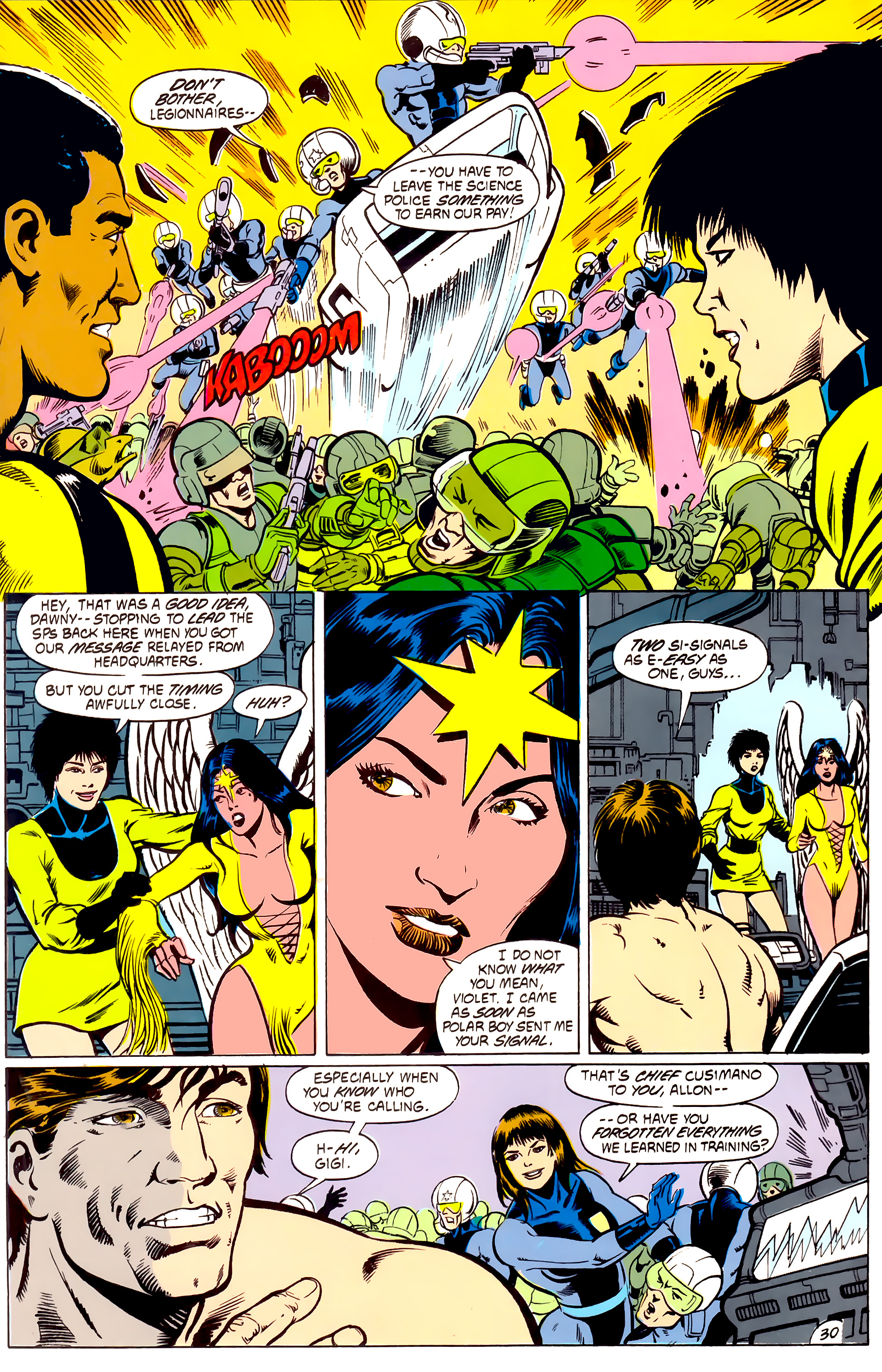 Legion of Super-Heroes (1984) _Annual_4 Page 30