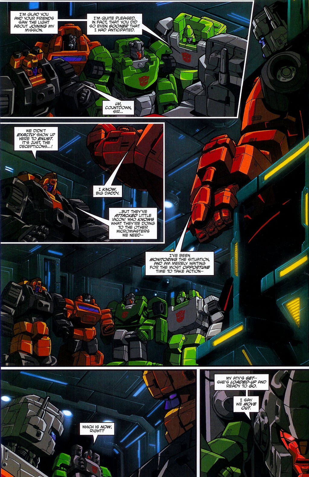 Read online Transformers: Micromasters comic -  Issue #4 - 4