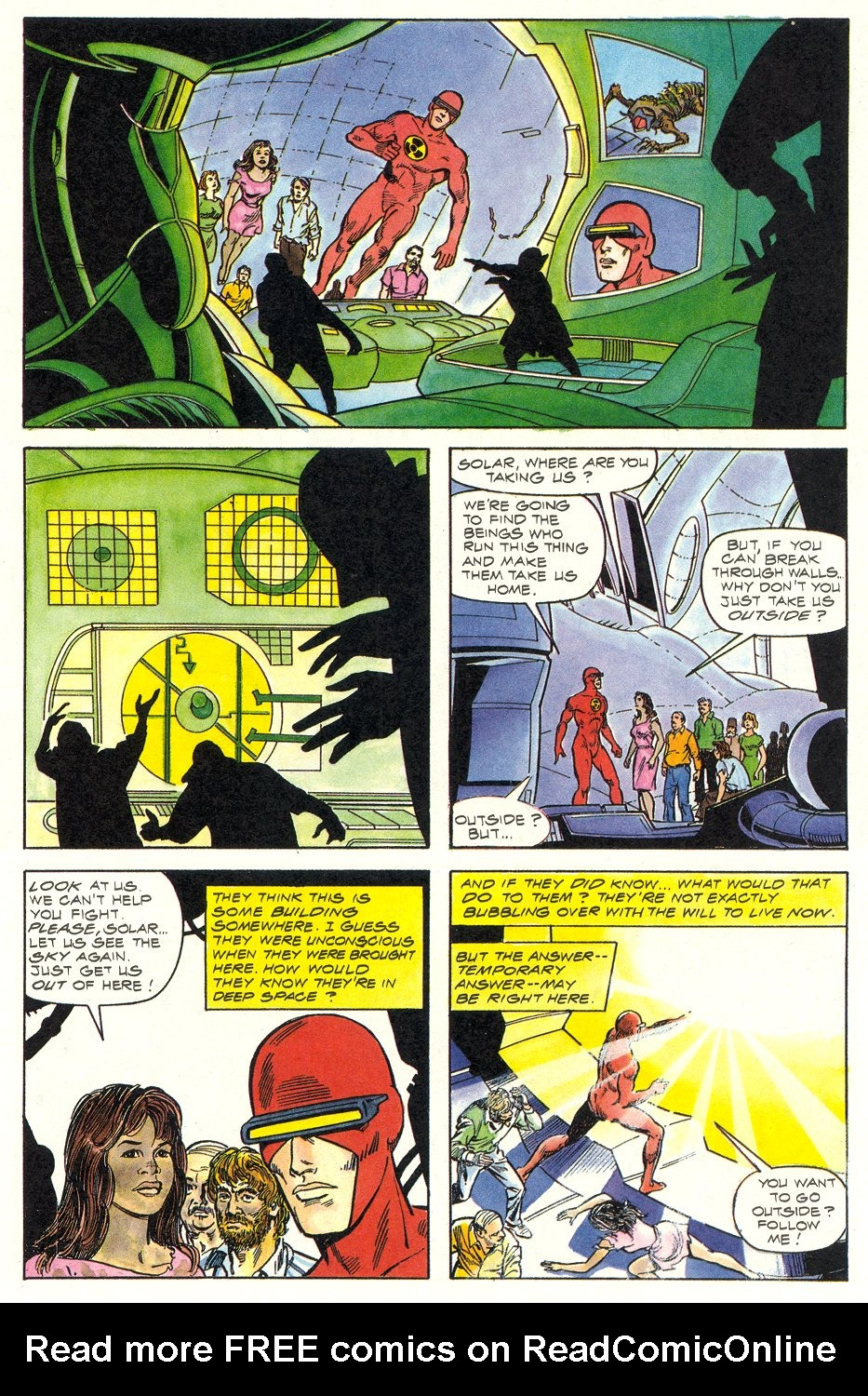 Read online Solar, Man of the Atom comic -  Issue #6 - 11