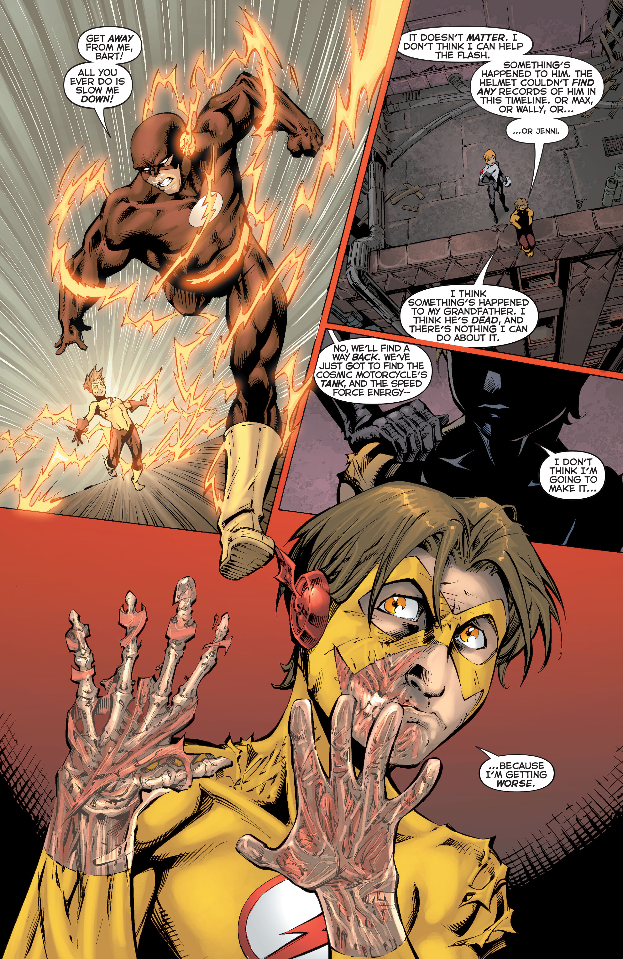 Read online Flashpoint: Kid Flash Lost comic -  Issue #2 - 10