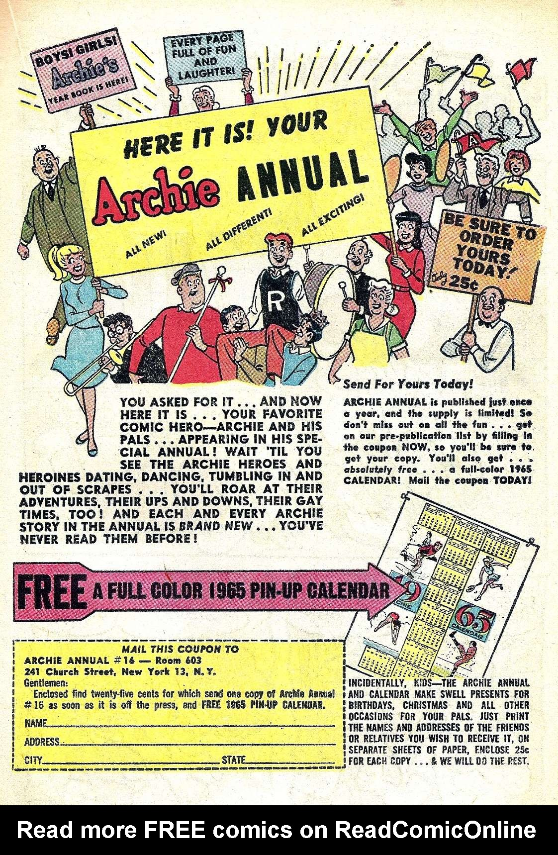 Read online Archie (1960) comic -  Issue #147 - 19