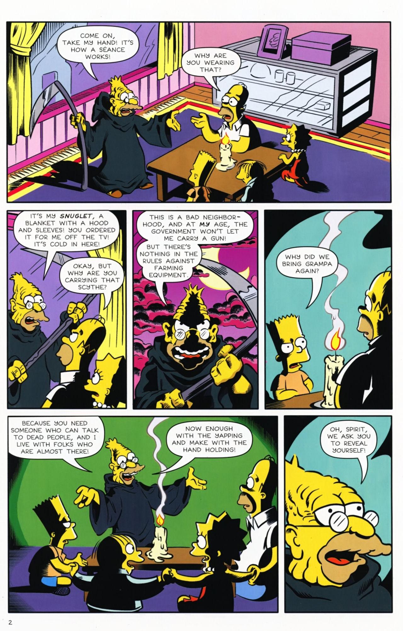 Read online Bongo Comics presents Comic Book Guy: The Comic Book comic -  Issue #5 - 4