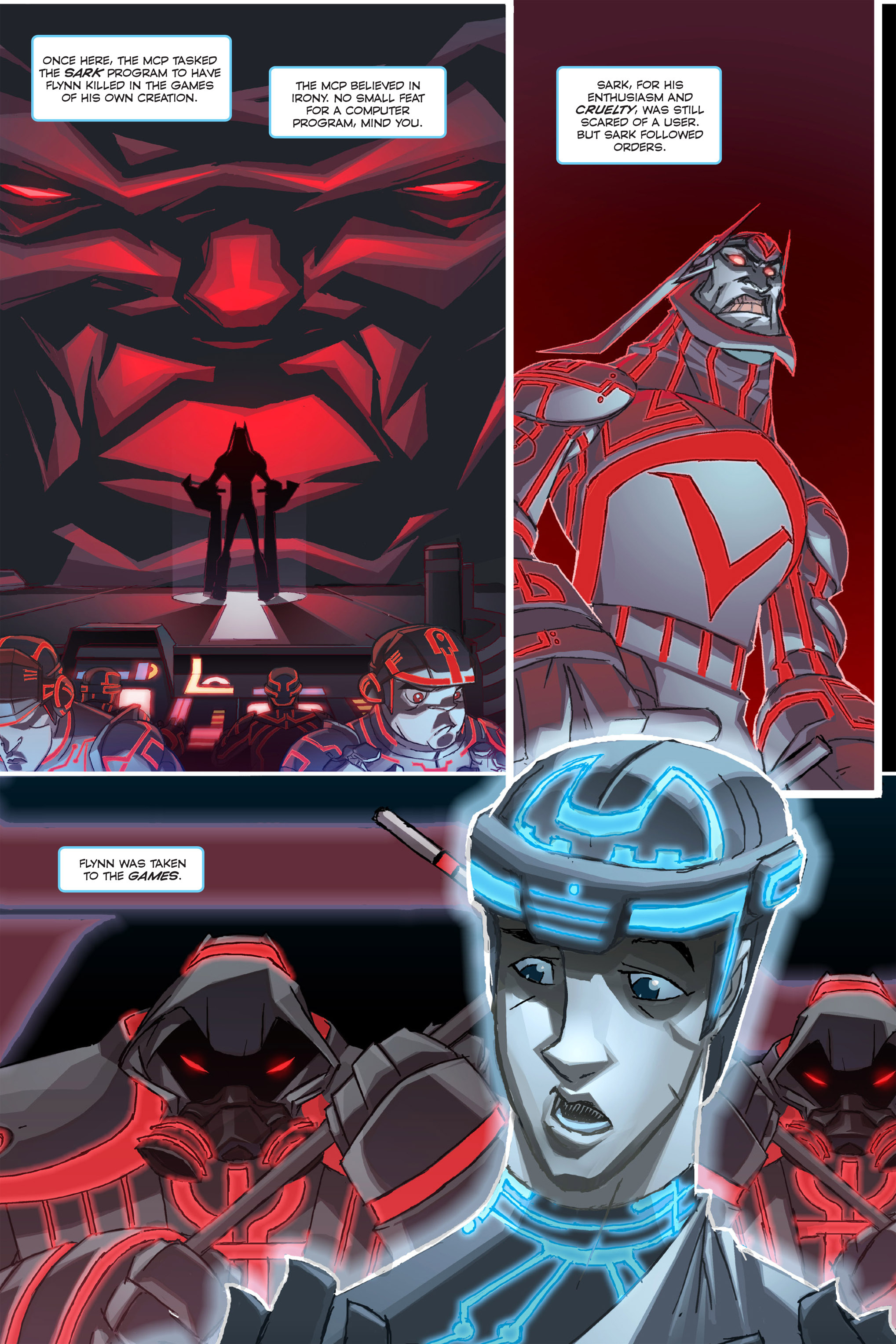 Read online TRON: Betrayal comic -  Issue # TPB - 4