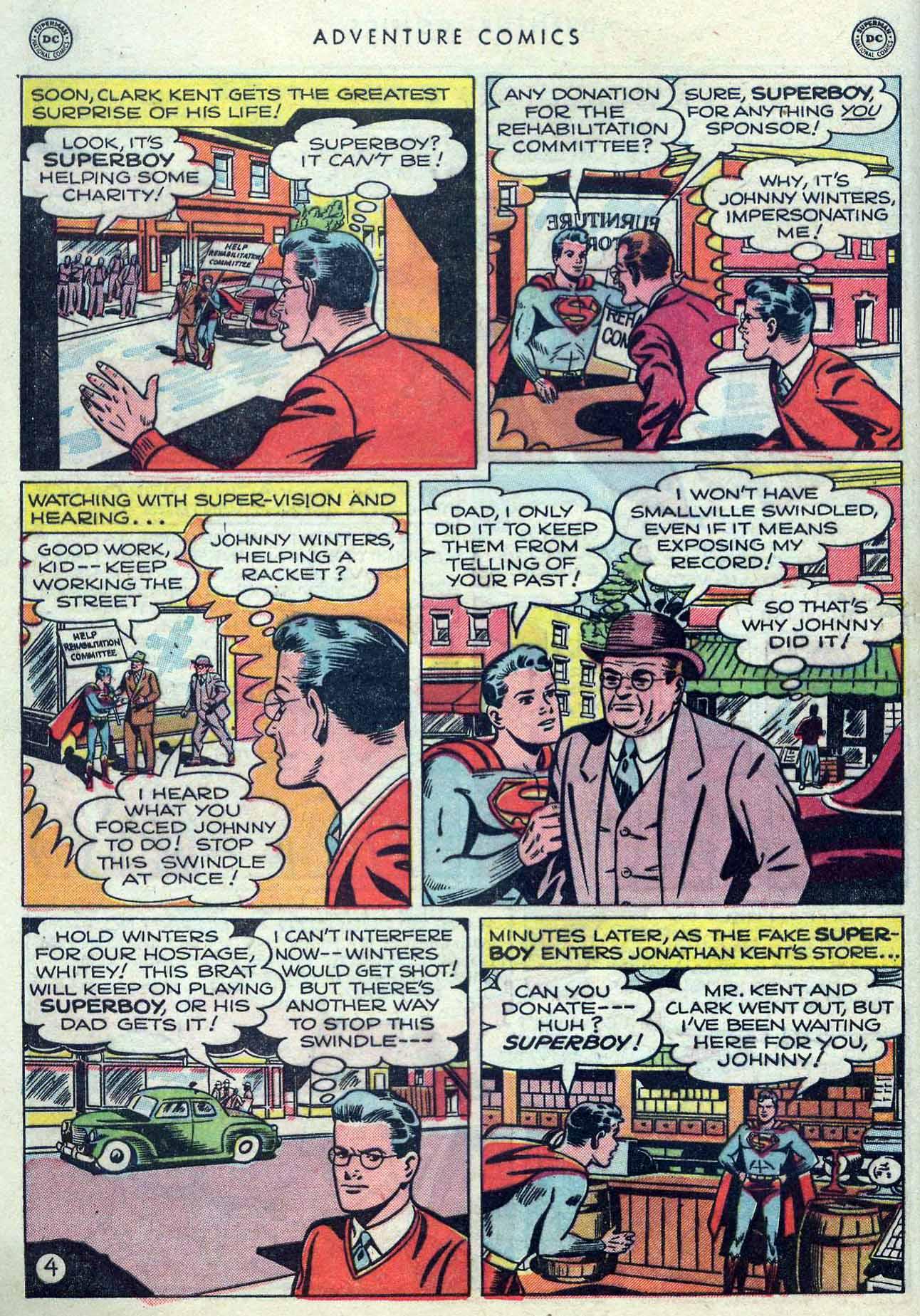 Read online Adventure Comics (1938) comic -  Issue #149 - 6