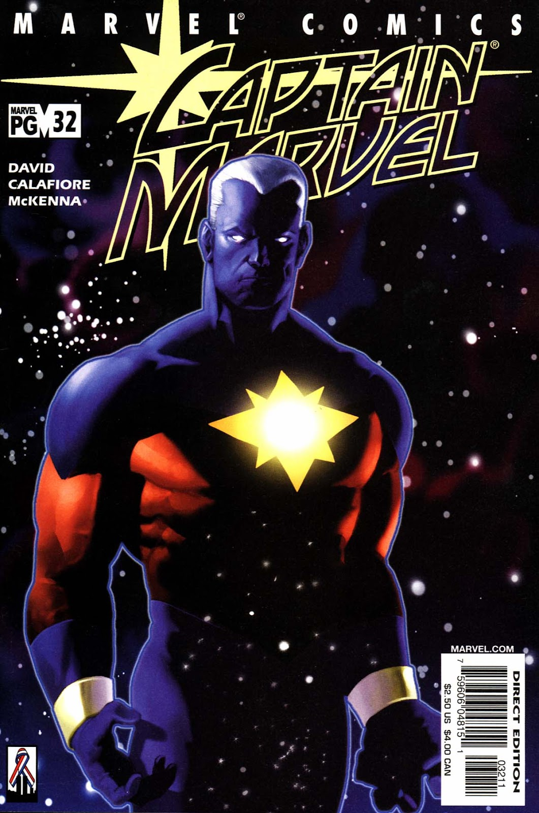 Captain Marvel (1999) 32 Page 1