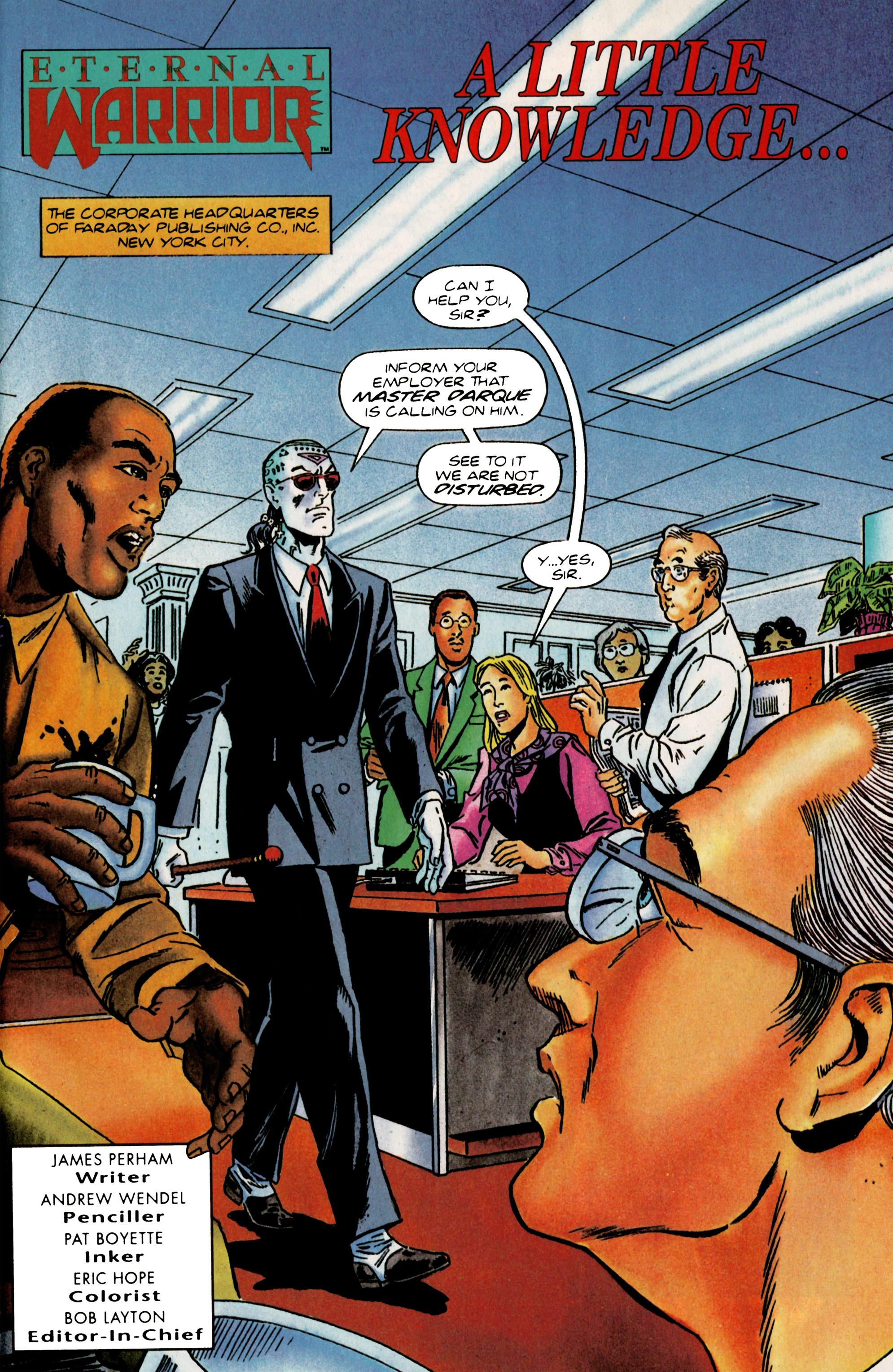 Read online Eternal Warrior (1992) comic -  Issue #22 - 7