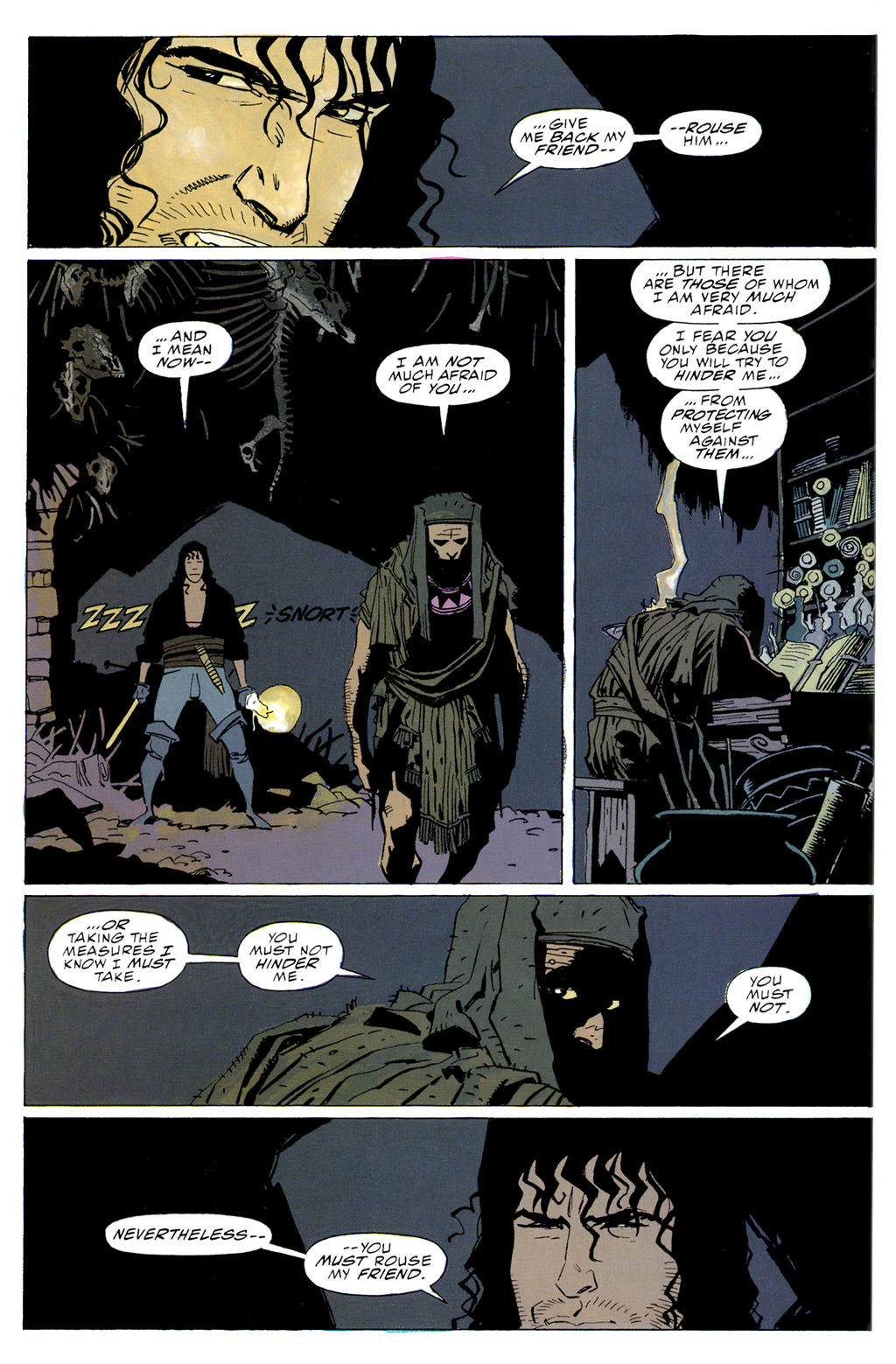 Read online Fafhrd and the Gray Mouser comic -  Issue #2 - 32