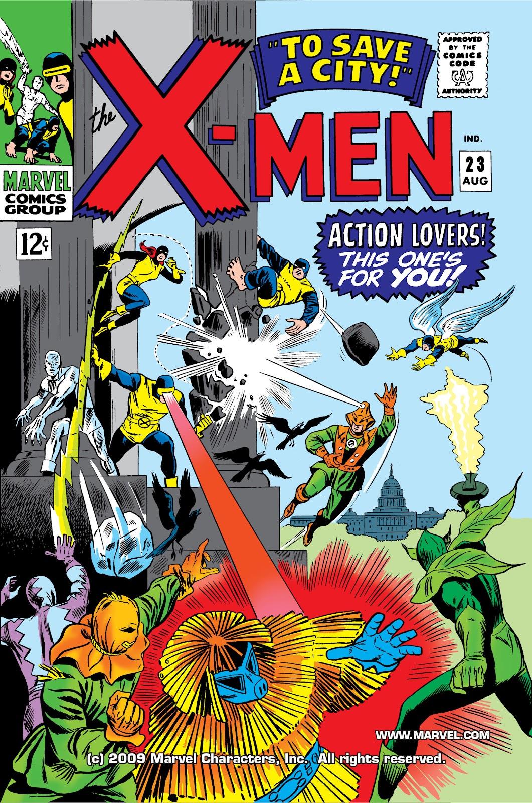 Uncanny X-Men (1963) issue 23 - Page 1