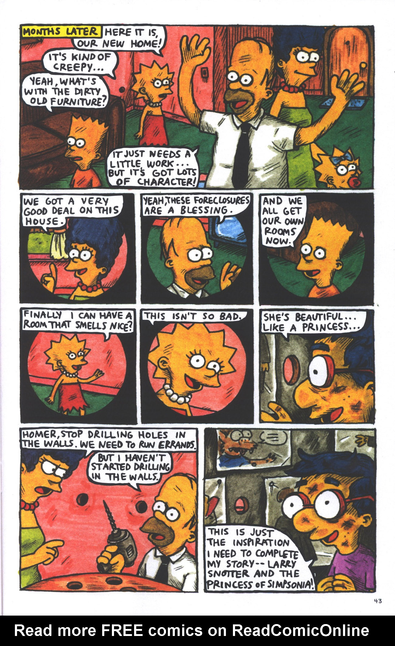 Read online Treehouse of Horror comic -  Issue #15 - 46