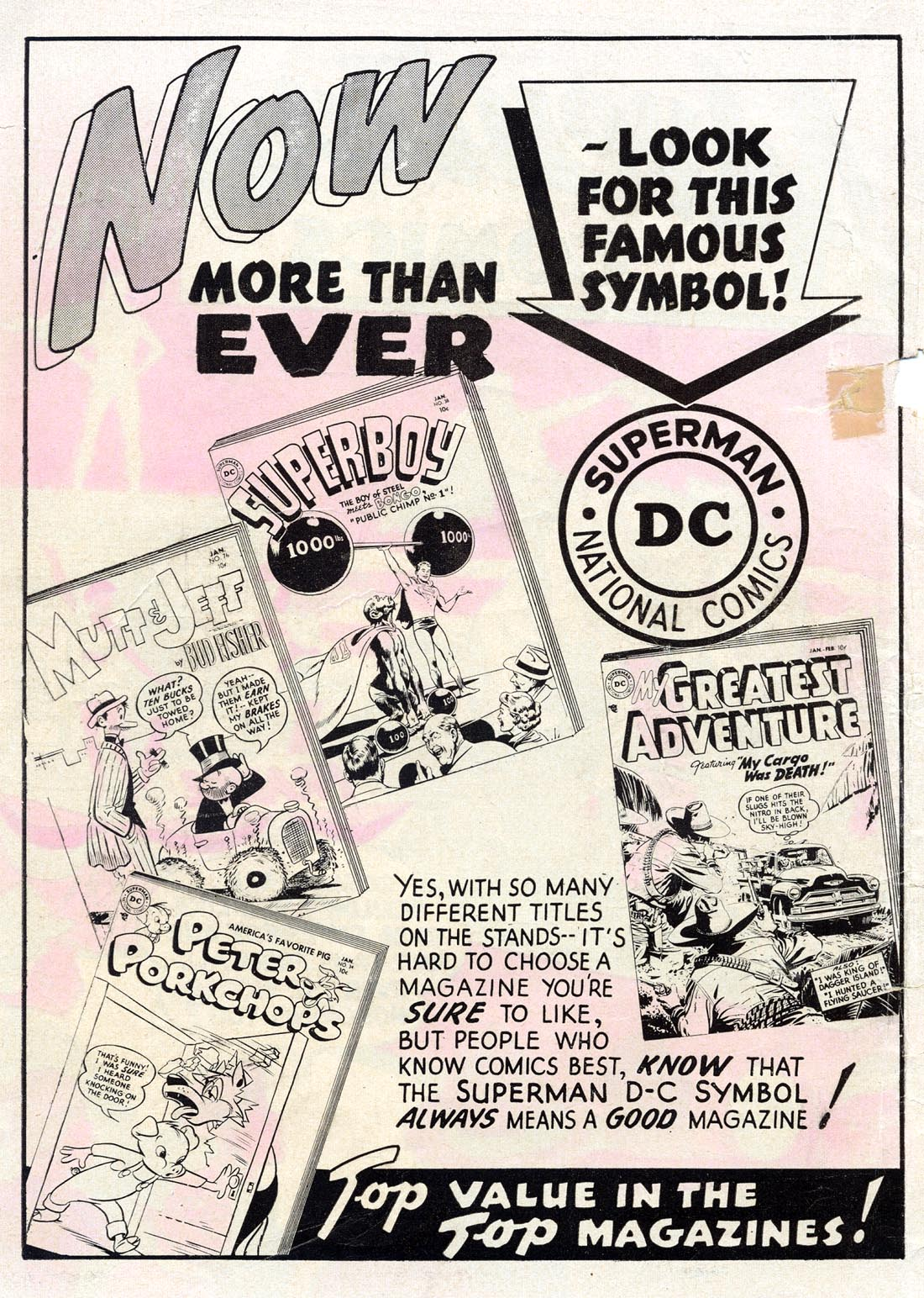 Read online Adventure Comics (1938) comic -  Issue #209 - 2