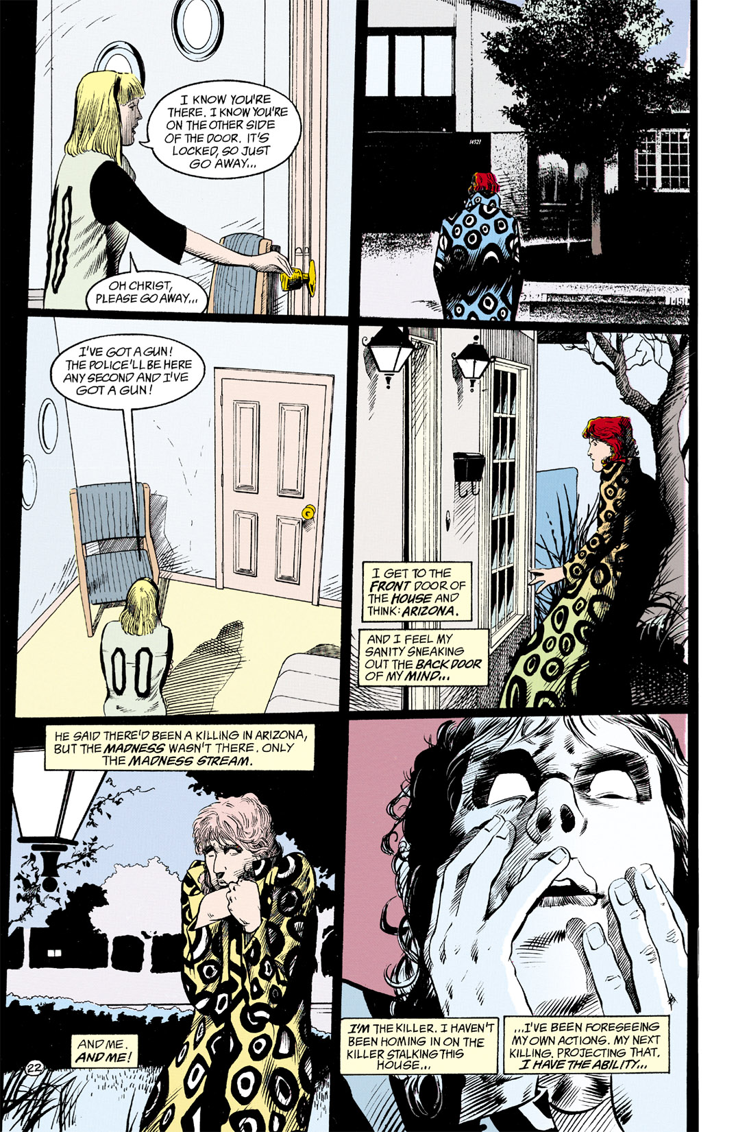 Read online Shade, the Changing Man comic -  Issue #11 - 23