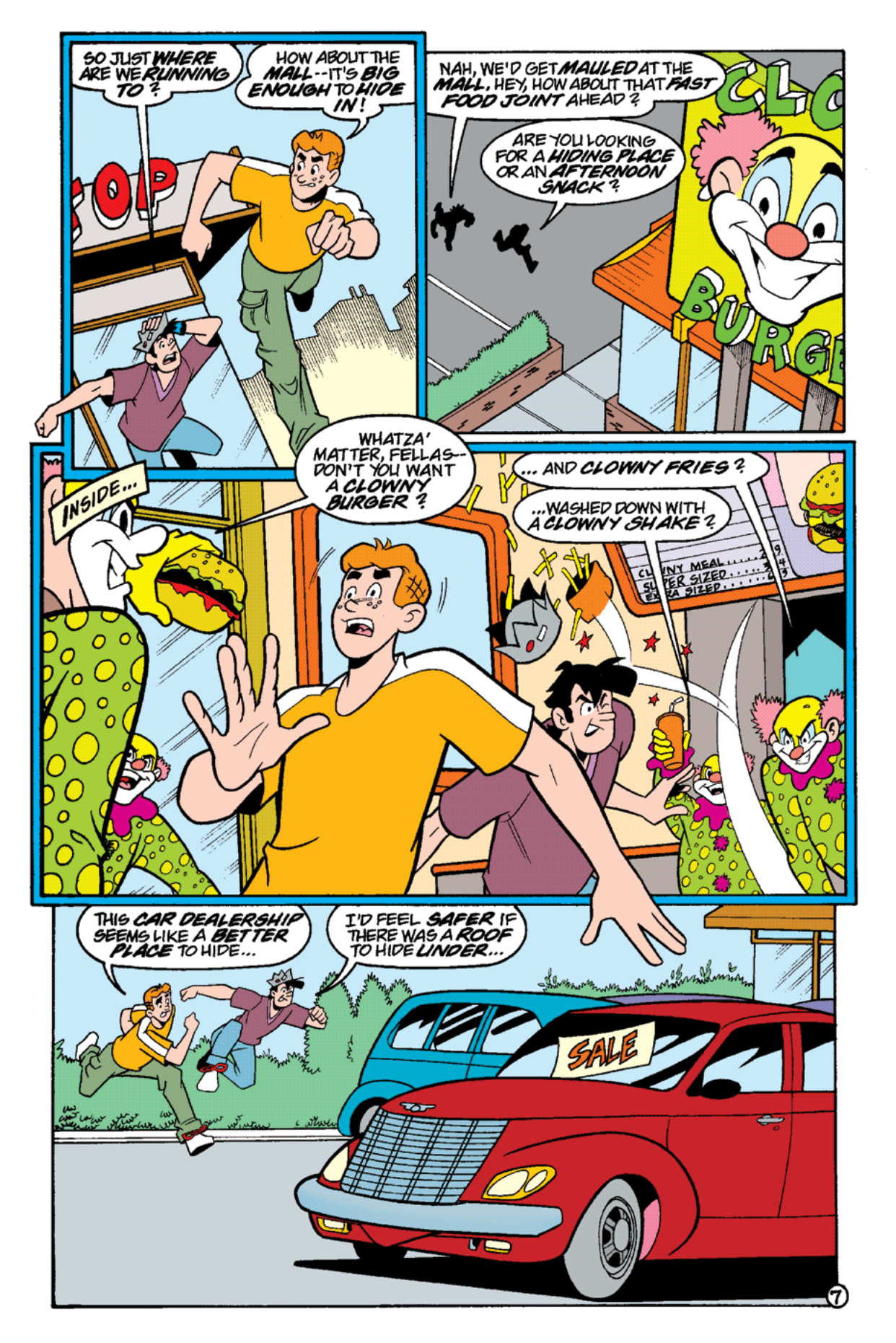 Read online Archie's Weird Mysteries comic -  Issue #15 - 9