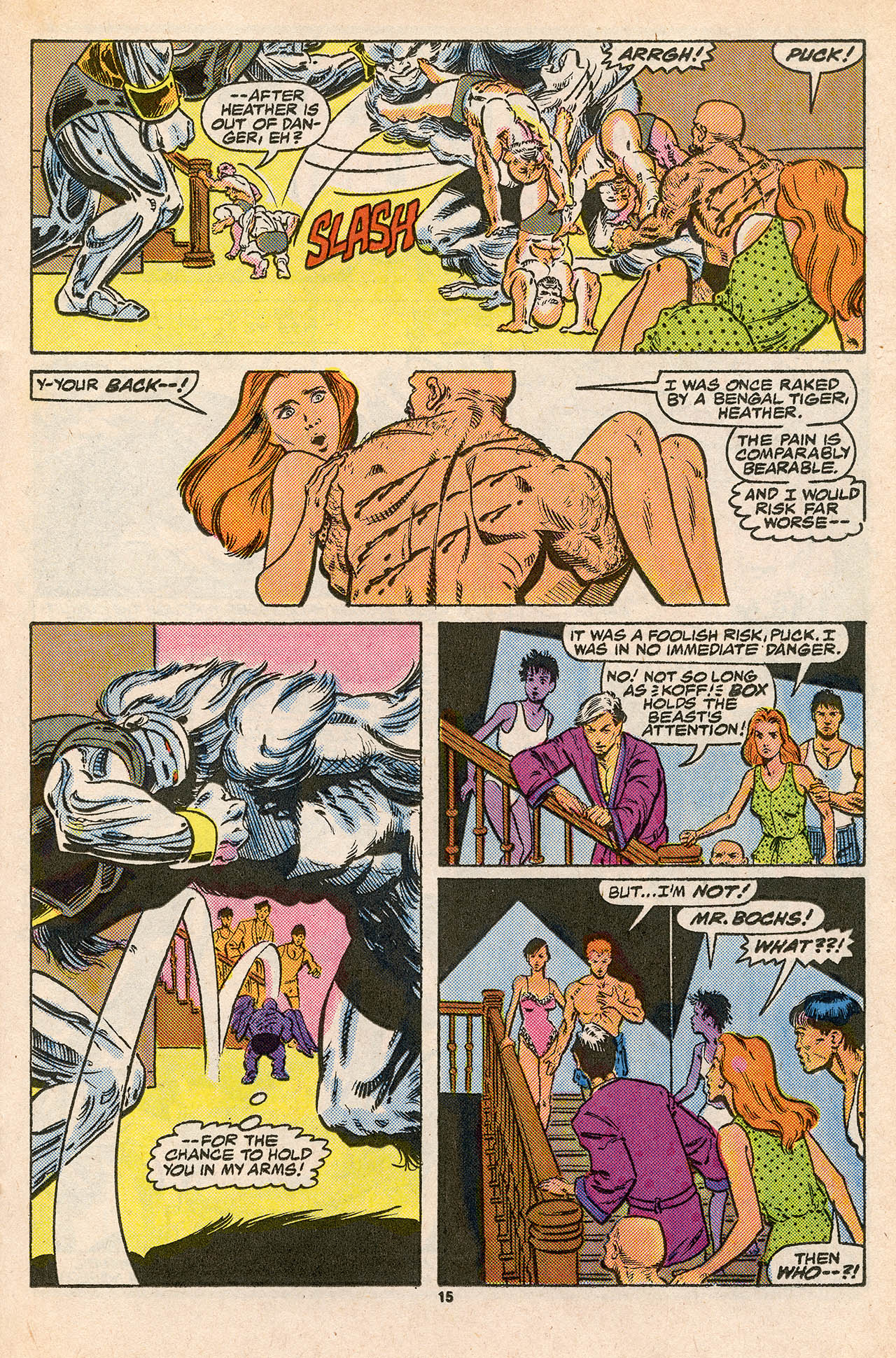 Read online Alpha Flight (1983) comic -  Issue #45 - 21