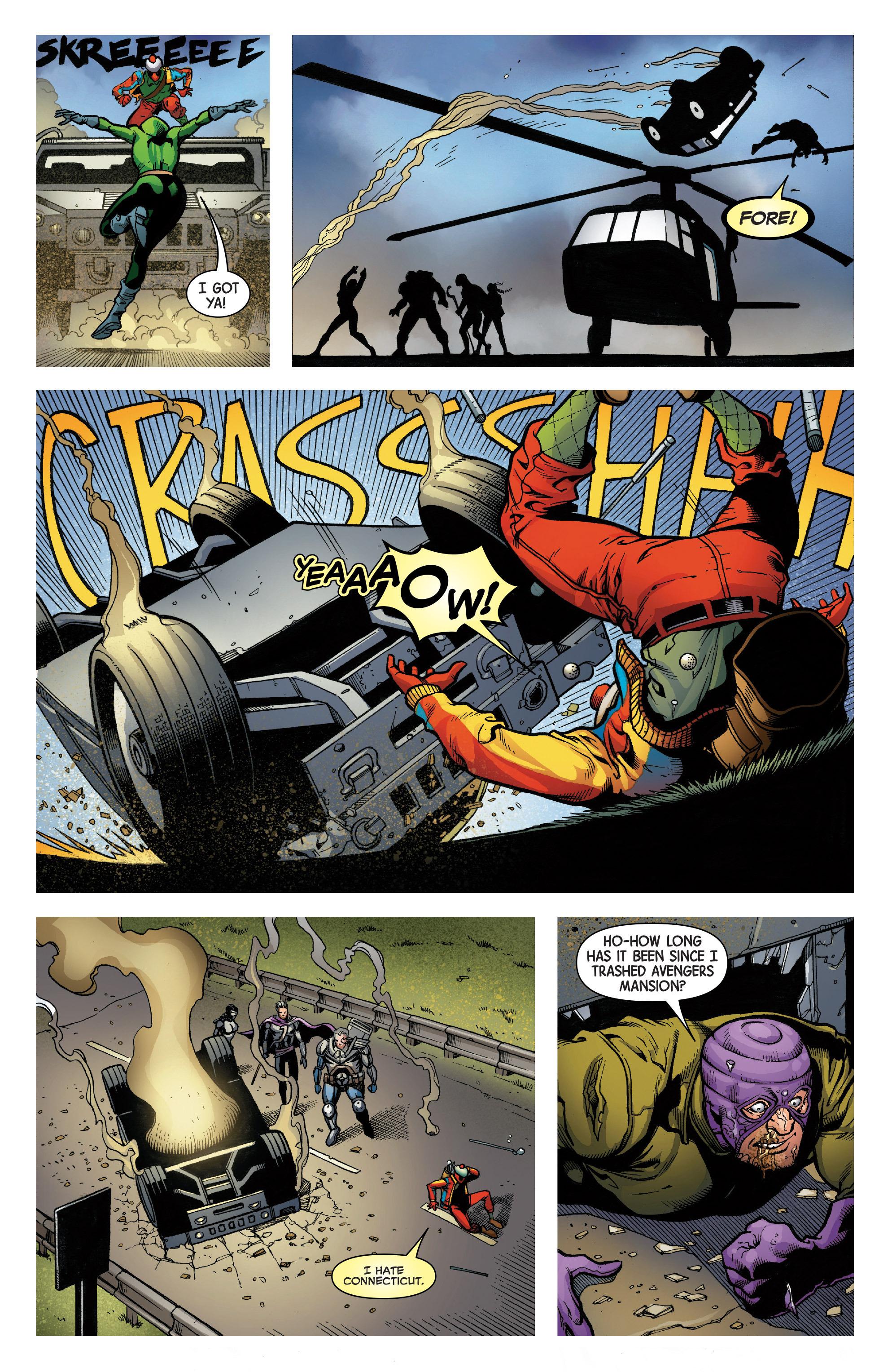 Read online Uncanny Avengers [II] comic -  Issue #7 - 12