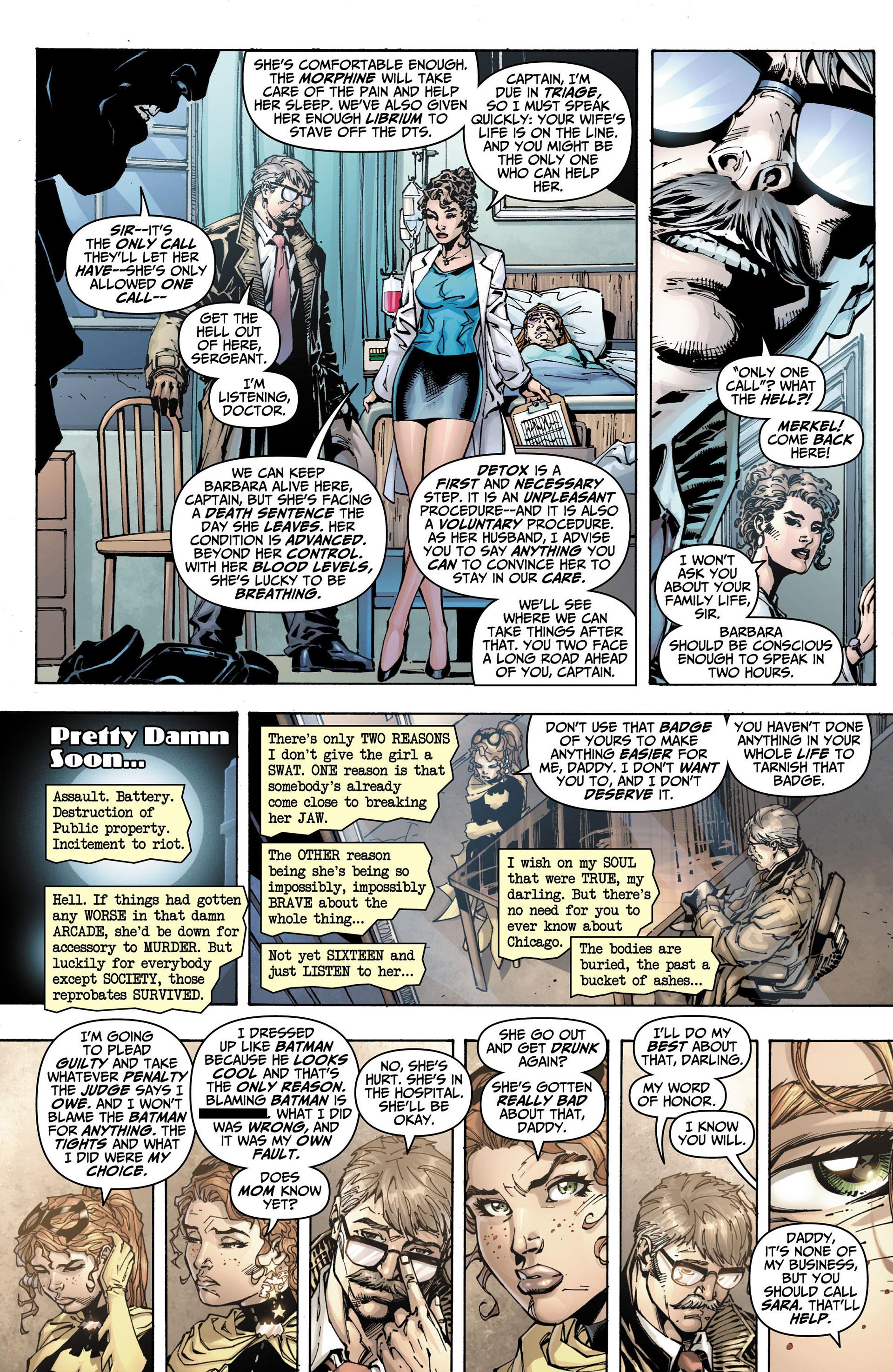 Read online All Star Batman & Robin, The Boy Wonder comic -  Issue #10 - 21