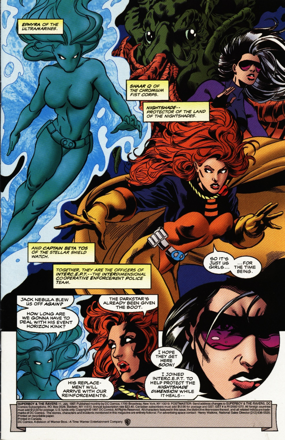 Read online Superboy & The Ravers comic -  Issue #11 - 2