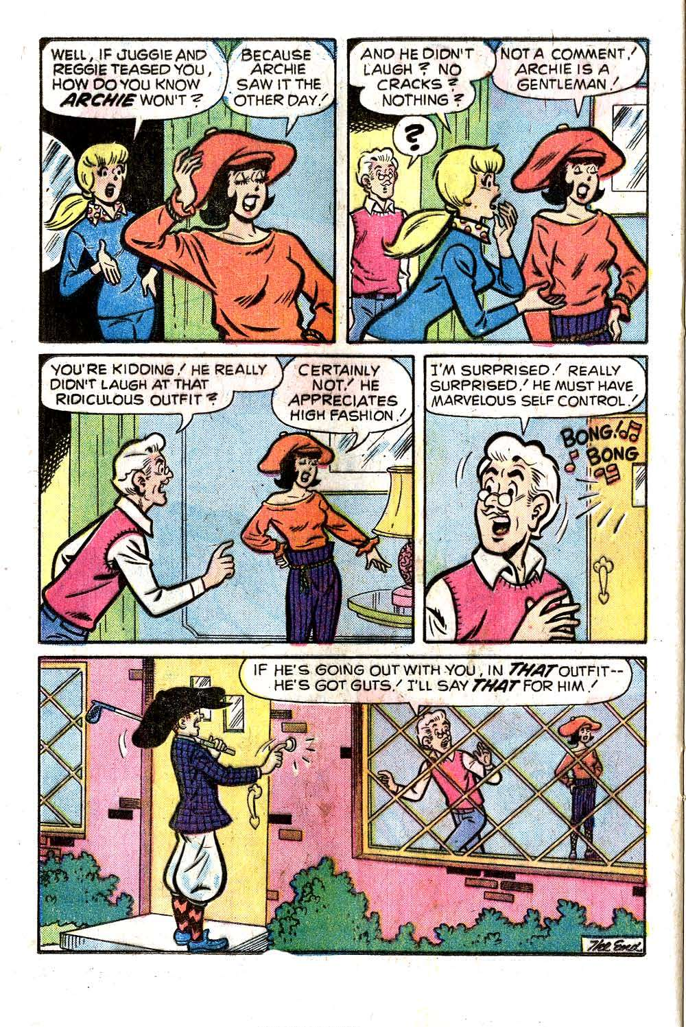 Read online Archie (1960) comic -  Issue #258 - 24