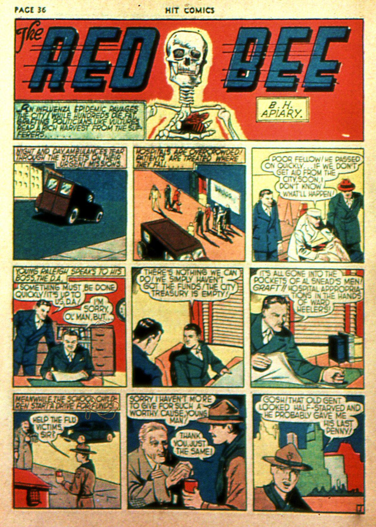 Read online Hit Comics comic -  Issue #2 - 38