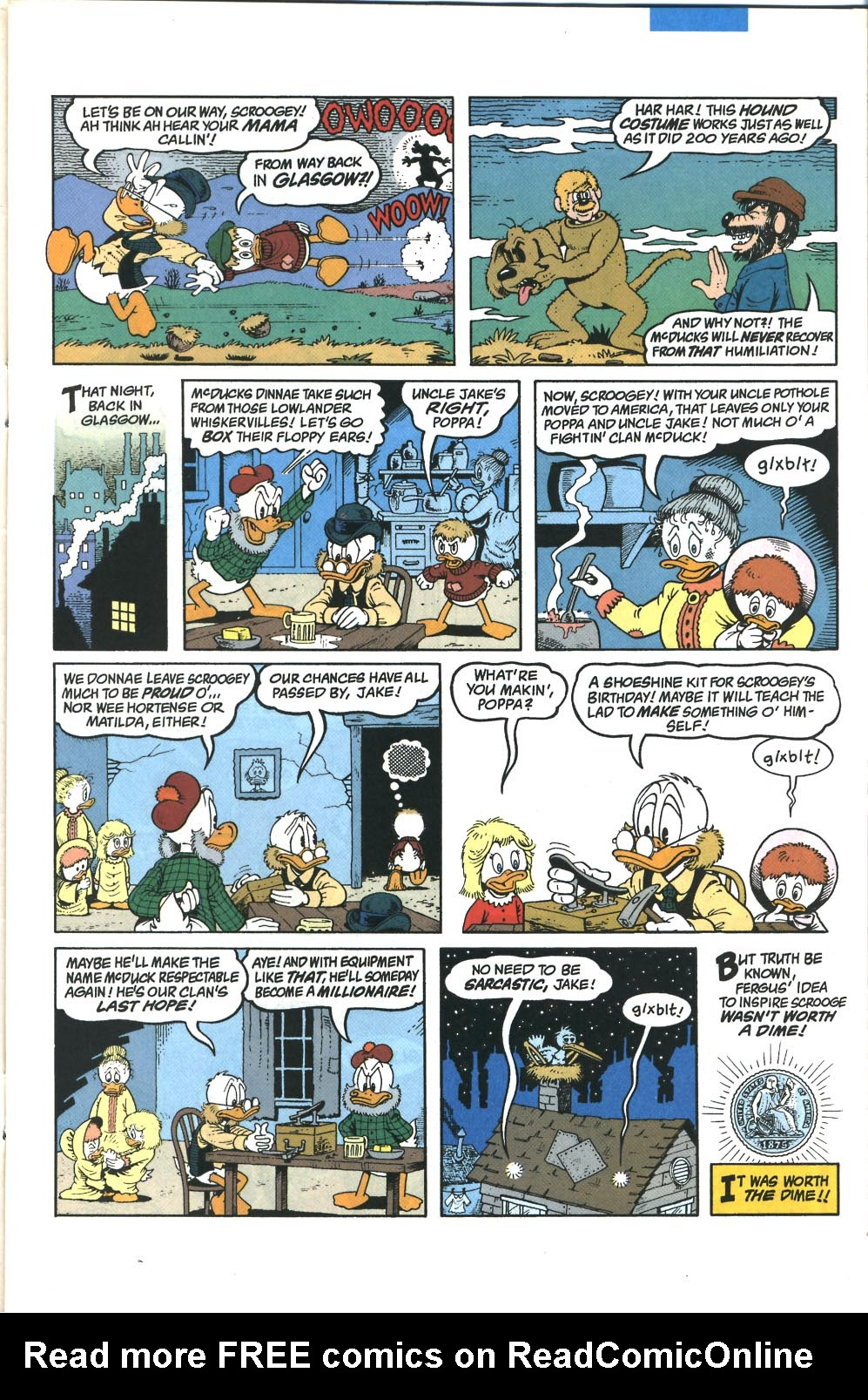 Read online Uncle Scrooge (1953) comic -  Issue #285 - 6