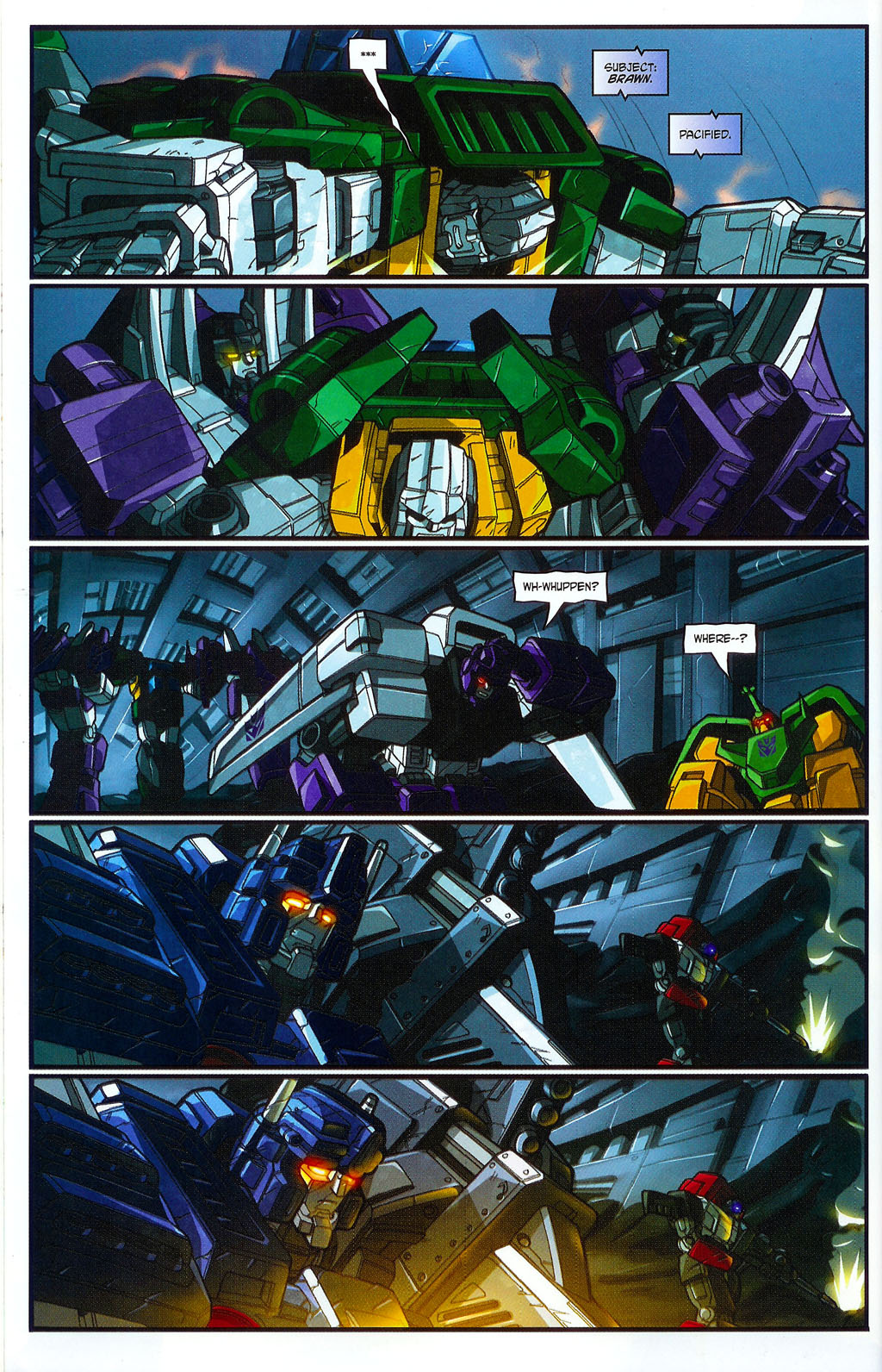"""Read online Transformers War Within: """"The Age of Wrath"""" comic -  Issue #2 - 14"""